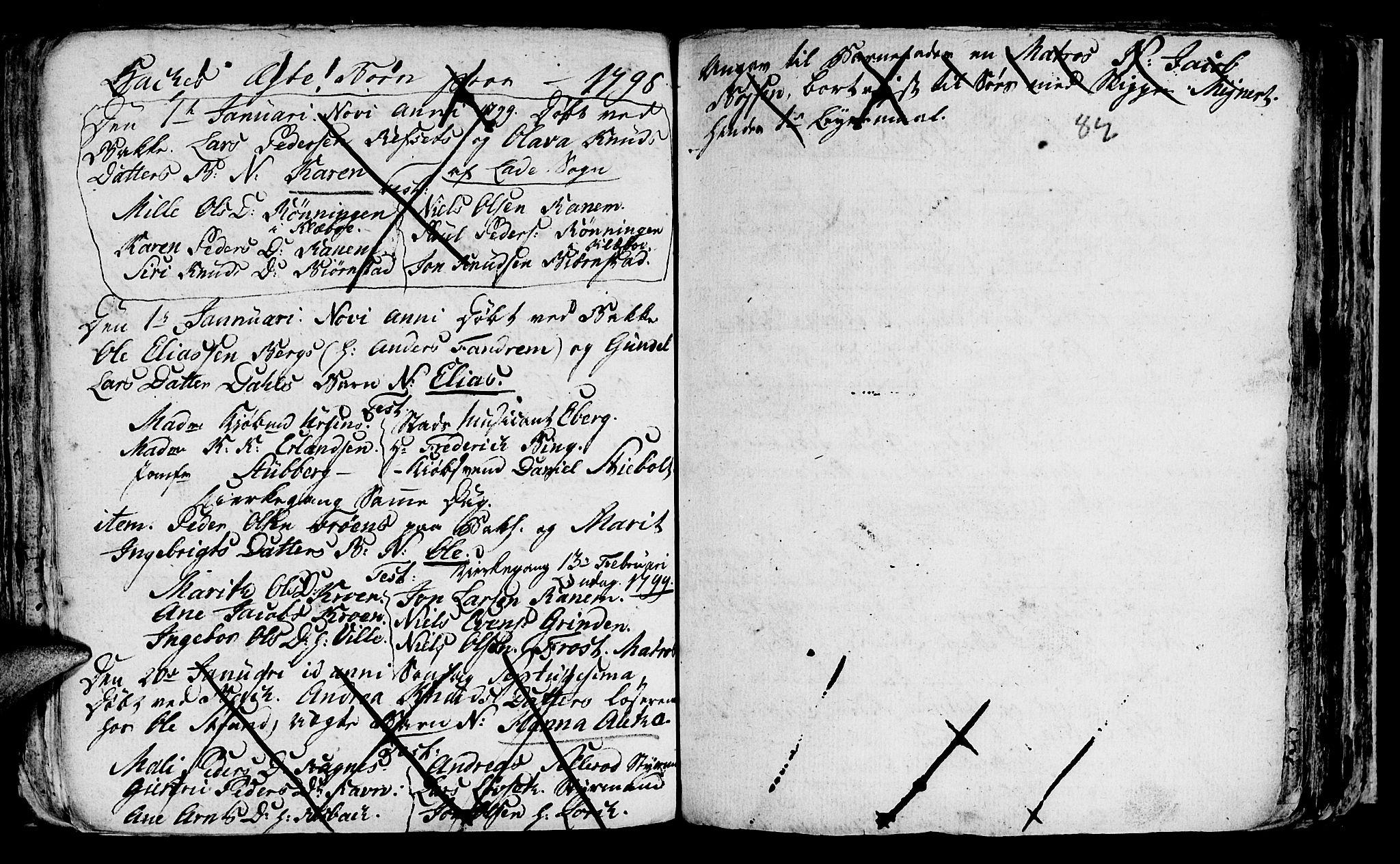 SAT, Ministerialprotokoller, klokkerbøker og fødselsregistre - Sør-Trøndelag, 604/L0218: Klokkerbok nr. 604C01, 1754-1819, s. 82