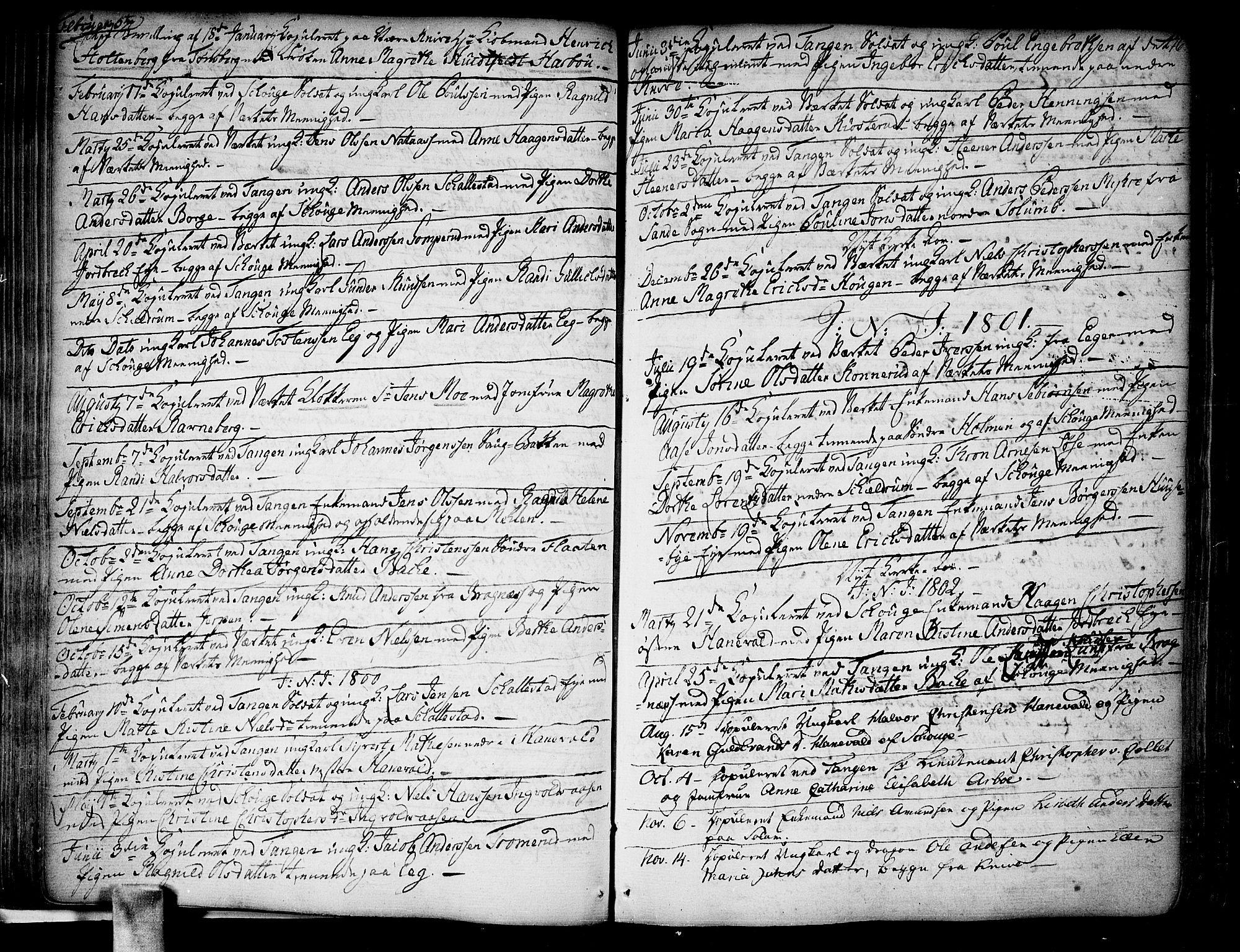 SAKO, Skoger kirkebøker, F/Fa/L0001: Ministerialbok nr. I 1, 1746-1814, s. 76