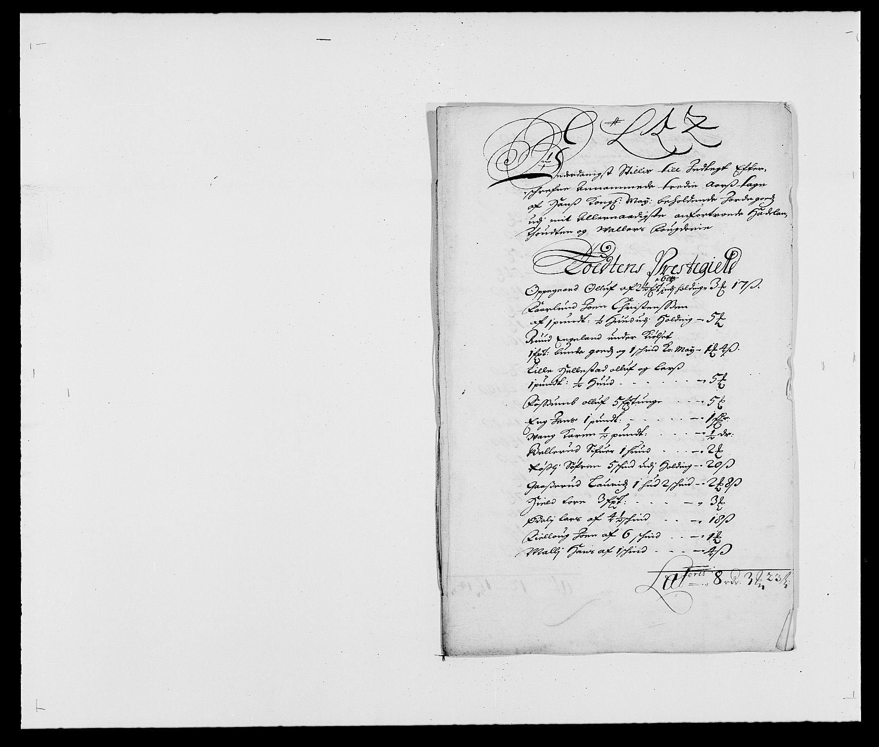 RA, Rentekammeret inntil 1814, Reviderte regnskaper, Fogderegnskap, R18/L1280: Fogderegnskap Hadeland, Toten og Valdres, 1682, s. 150