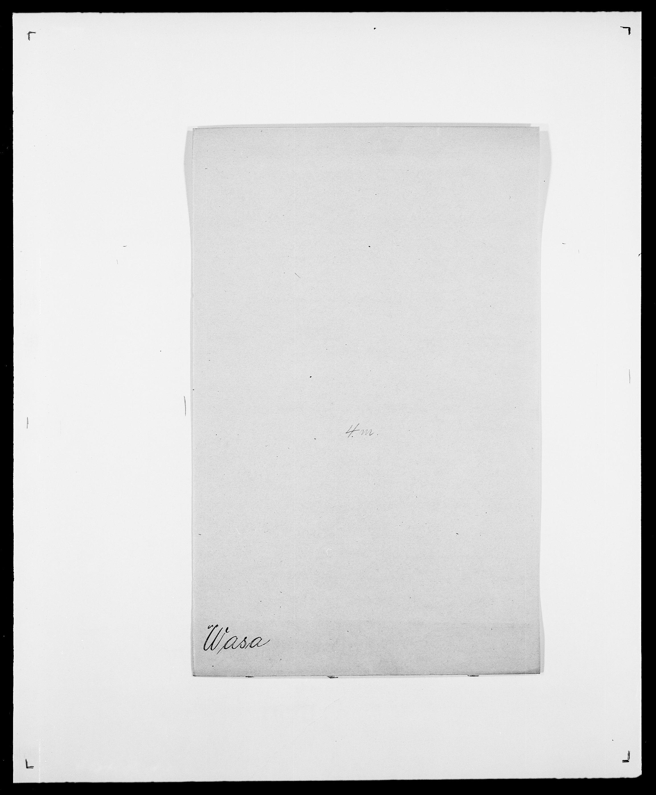 SAO, Delgobe, Charles Antoine - samling, D/Da/L0040: Usgaard - Velund, s. 348