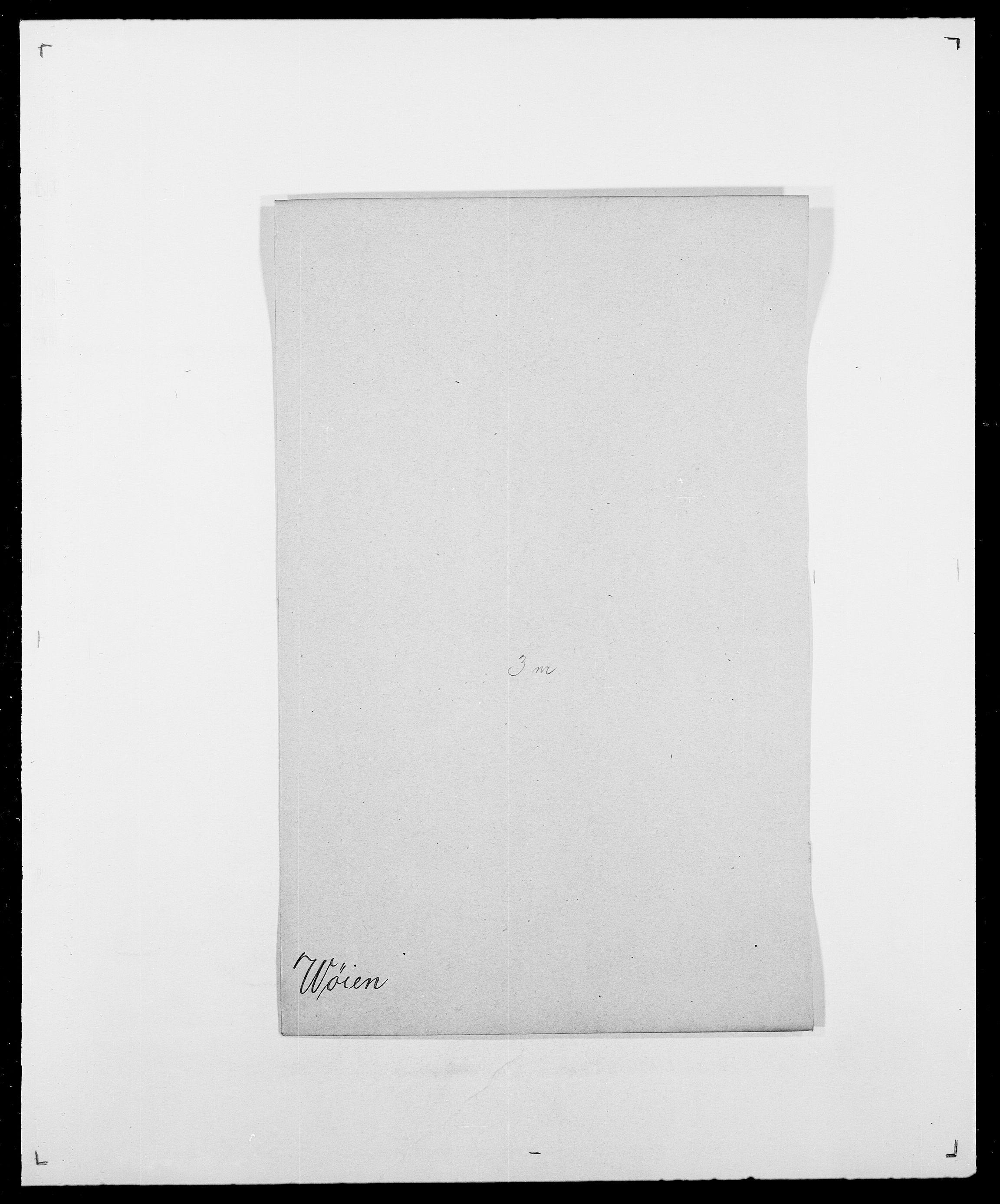 SAO, Delgobe, Charles Antoine - samling, D/Da/L0043: Wulfsberg - v. Zanten, s. 34