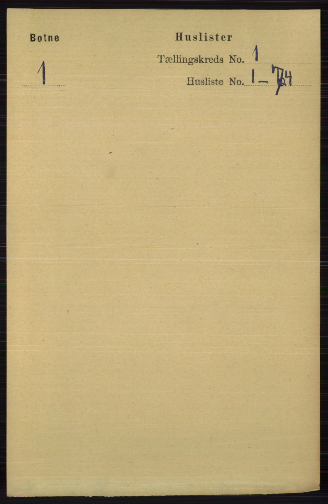 RA, Folketelling 1891 for 0715 Botne herred, 1891, s. 18