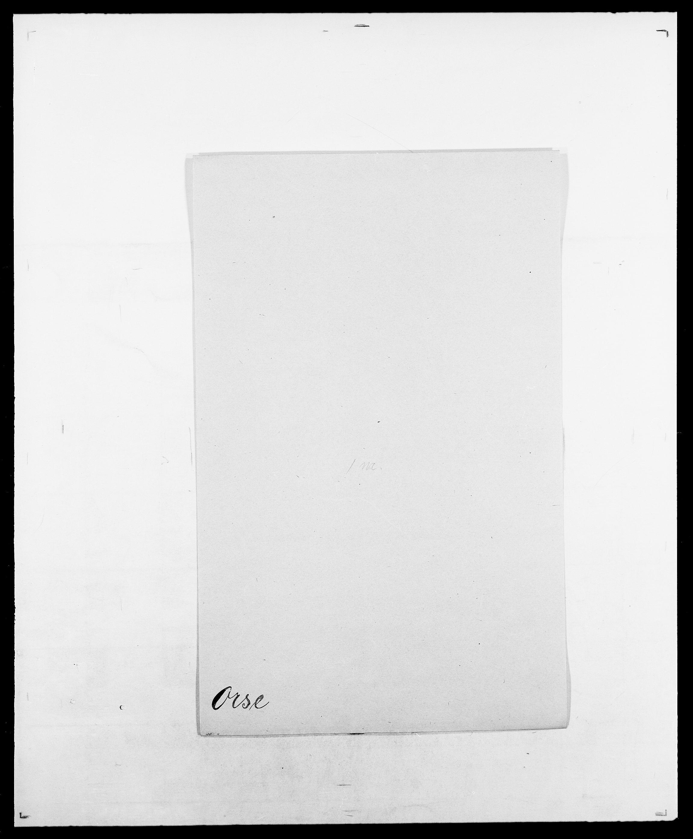 SAO, Delgobe, Charles Antoine - samling, D/Da/L0029: Obel - Oxholm, s. 431
