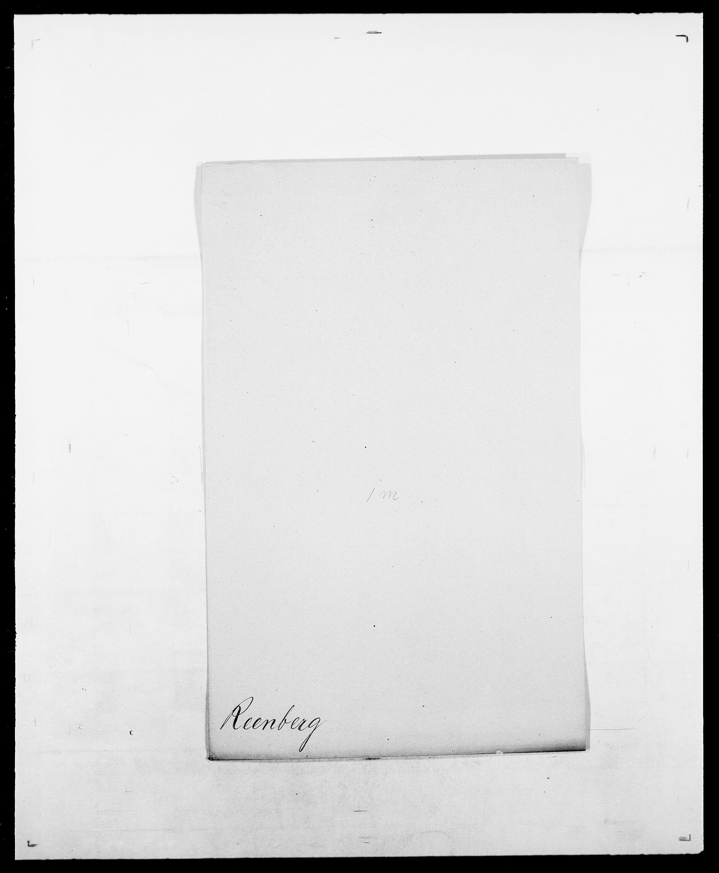 SAO, Delgobe, Charles Antoine - samling, D/Da/L0032: Rabakovsky - Rivertz, s. 261