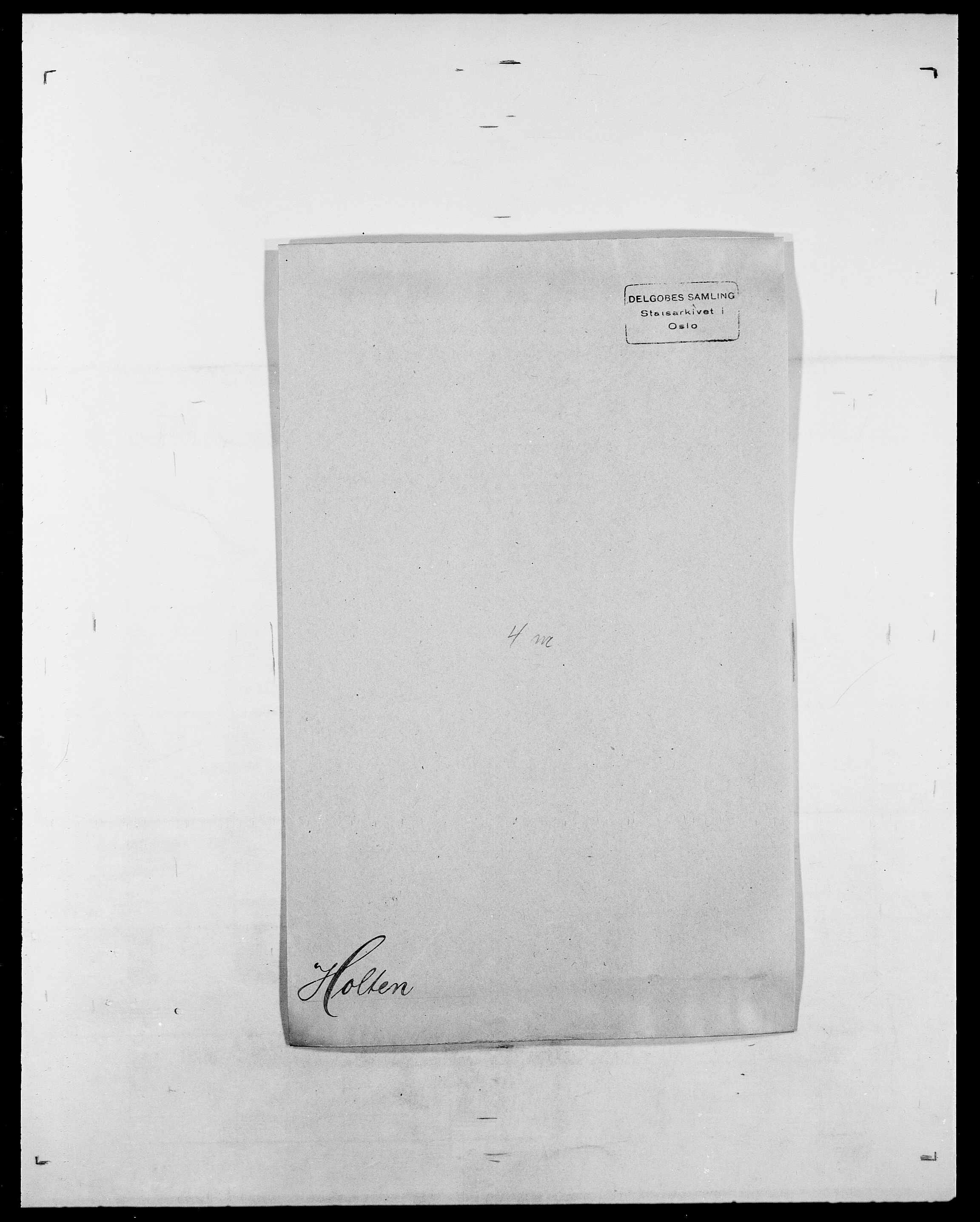 SAO, Delgobe, Charles Antoine - samling, D/Da/L0018: Hoch - Howert, s. 830