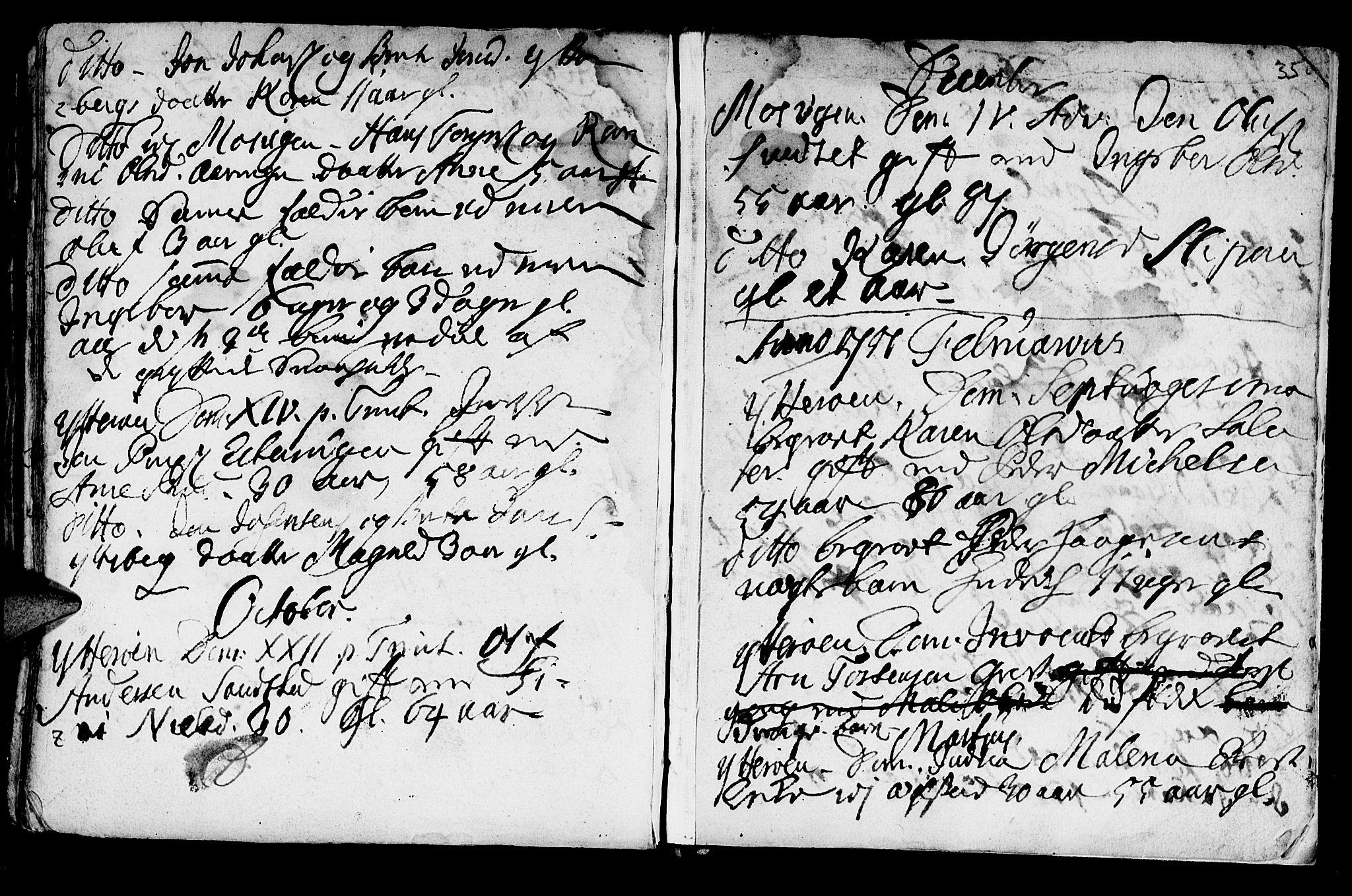 SAT, Ministerialprotokoller, klokkerbøker og fødselsregistre - Nord-Trøndelag, 722/L0215: Ministerialbok nr. 722A02, 1718-1755, s. 350