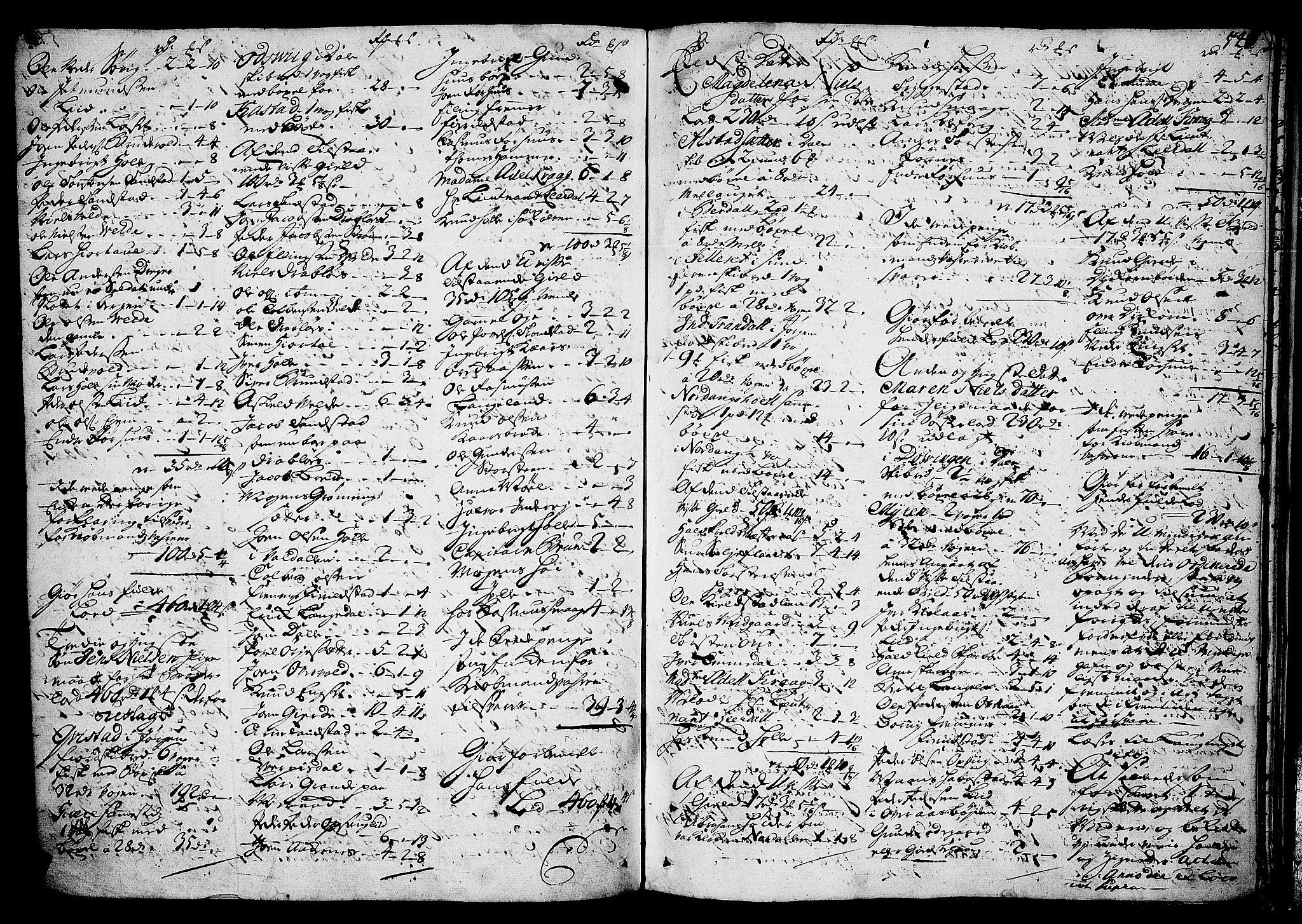 SAT, Sunnmøre sorenskriveri, 3/3A/L0007: Skifteprotokoll 05B, 1723-1725, s. 540b-541a