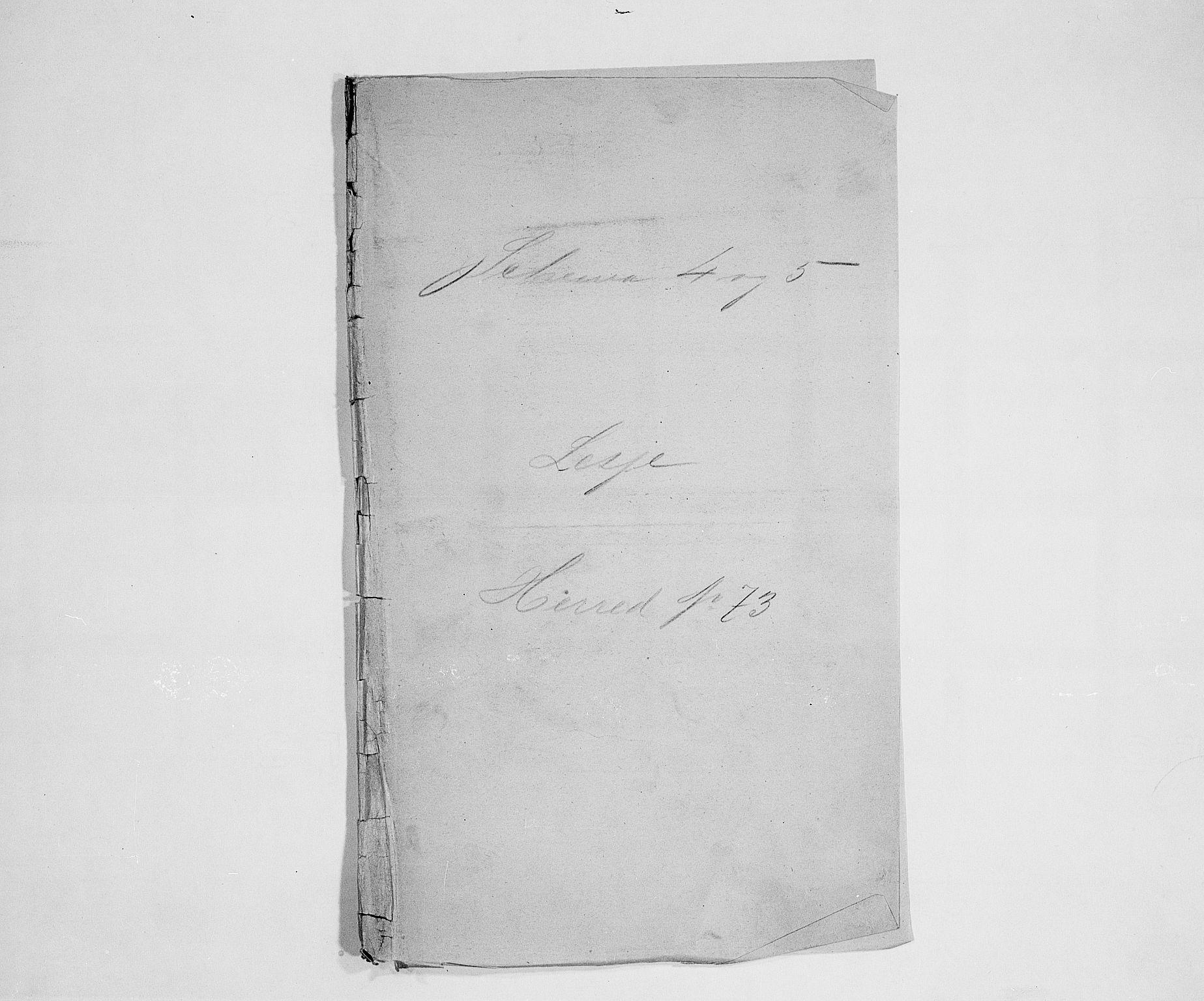 SAH, Folketelling 1900 for 0512 Lesja herred, 1900, s. 1