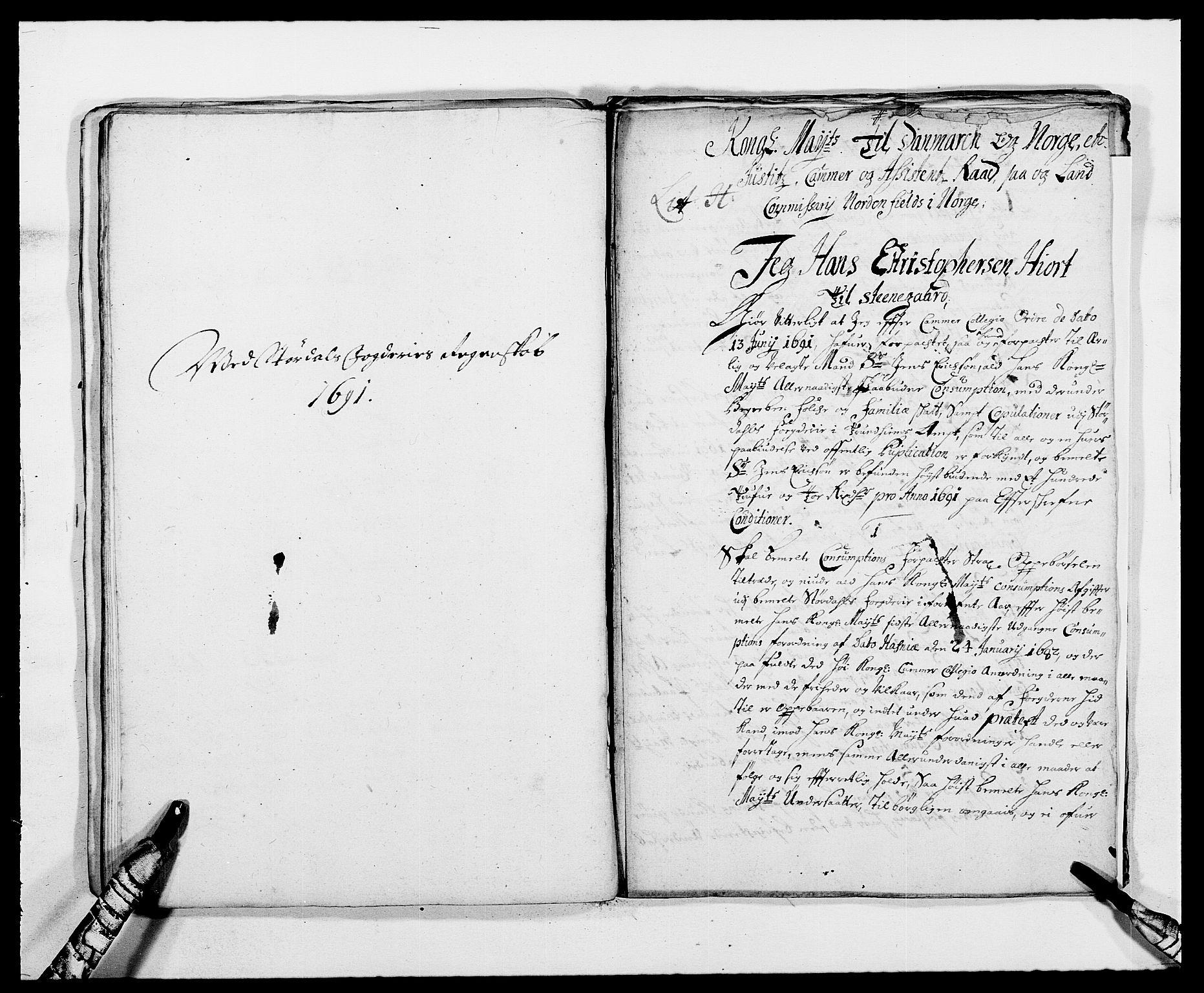 RA, Rentekammeret inntil 1814, Reviderte regnskaper, Fogderegnskap, R62/L4184: Fogderegnskap Stjørdal og Verdal, 1690-1691, s. 359