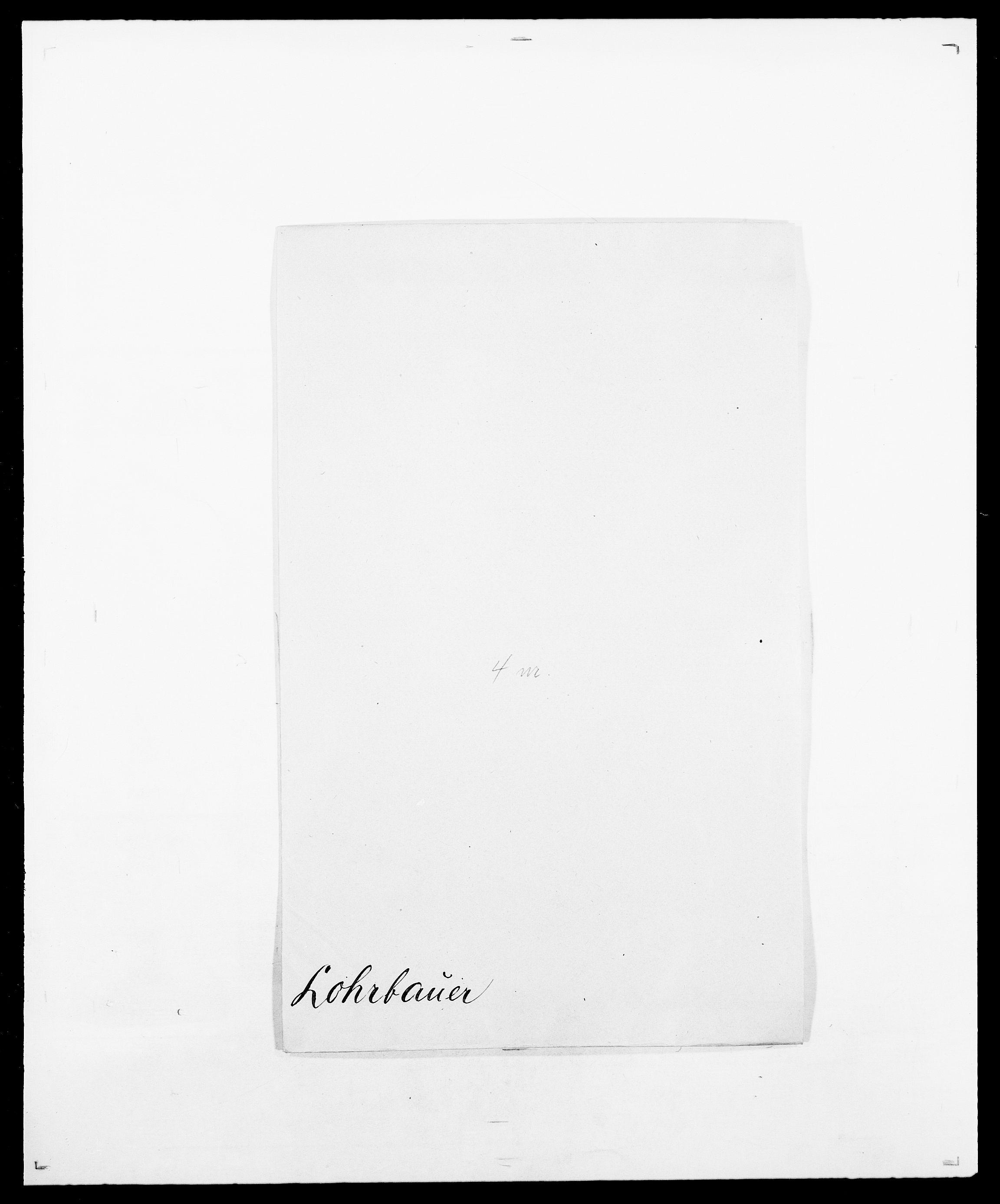 SAO, Delgobe, Charles Antoine - samling, D/Da/L0024: Lobech - Lærum, s. 86