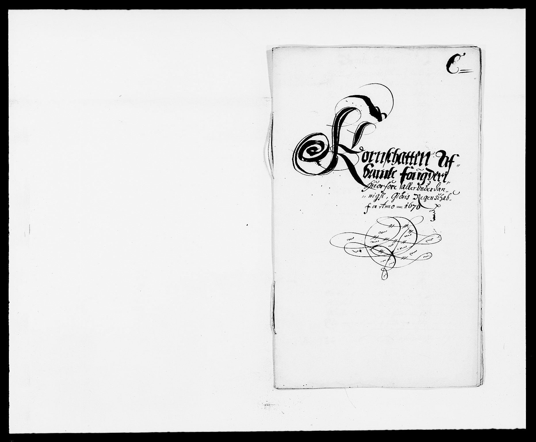 RA, Rentekammeret inntil 1814, Reviderte regnskaper, Fogderegnskap, R34/L2043: Fogderegnskap Bamble, 1676-1677, s. 75