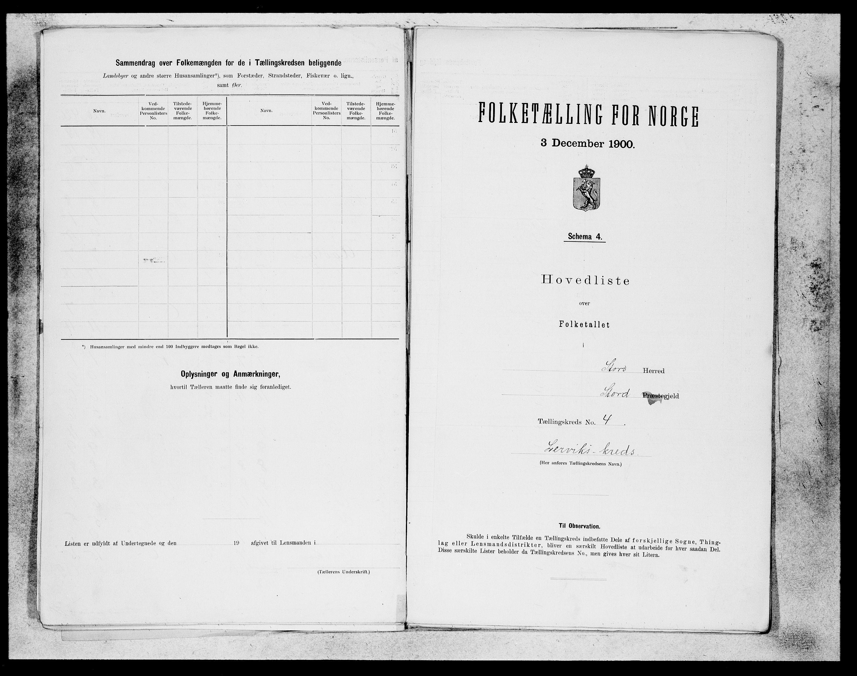 SAB, Folketelling 1900 for 1221 Stord herred, 1900, s. 9