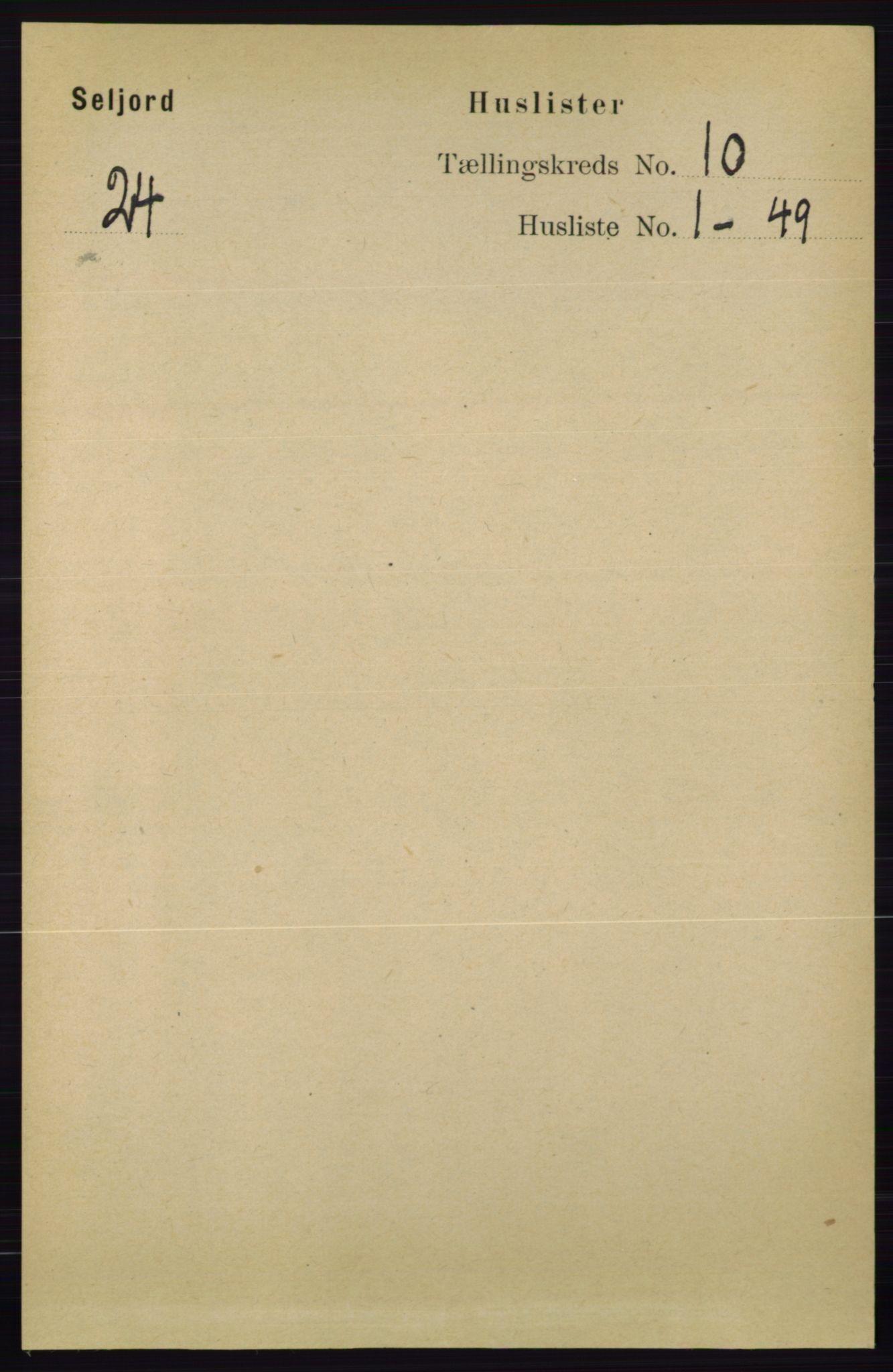 RA, Folketelling 1891 for 0828 Seljord herred, 1891, s. 3403