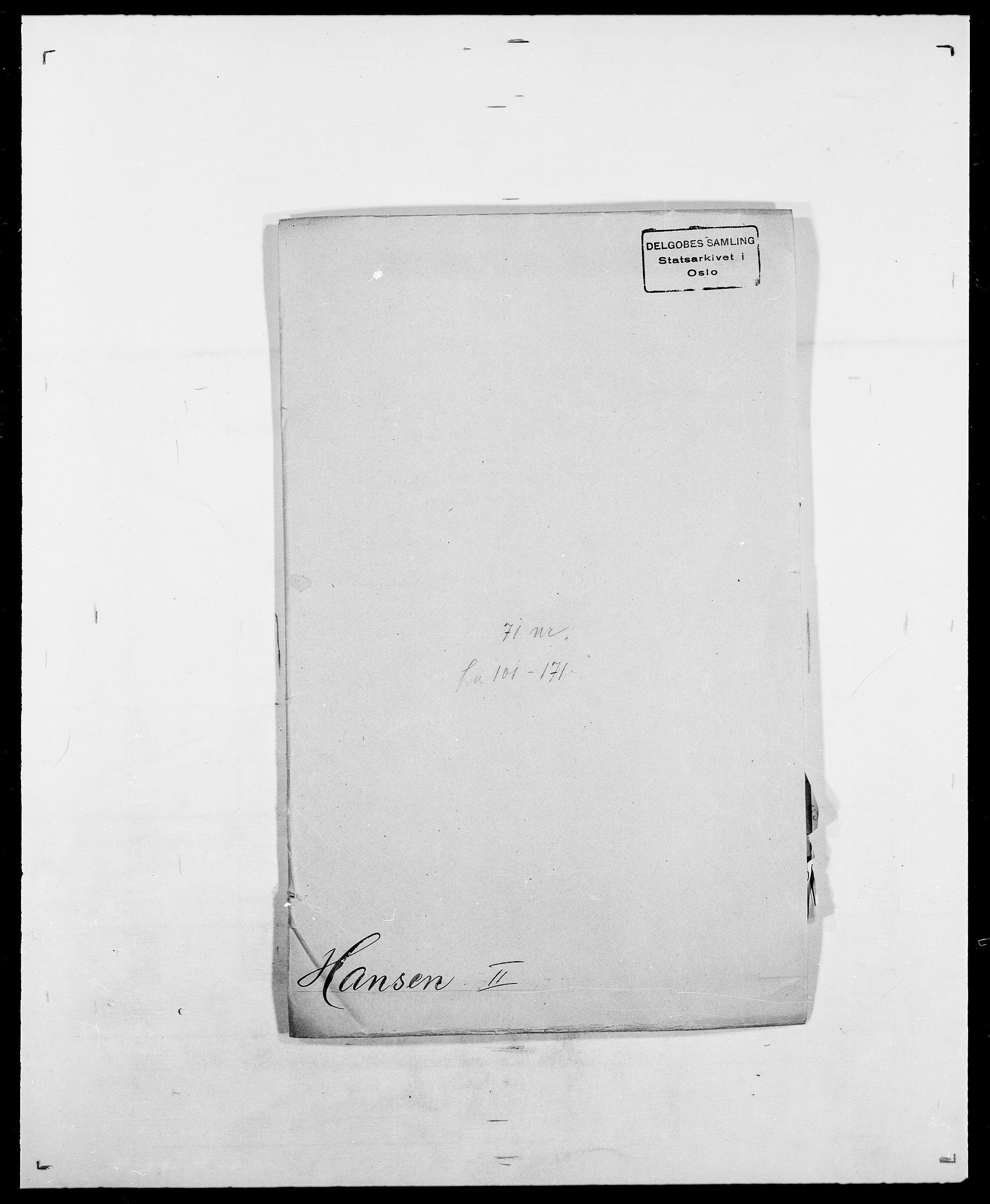 SAO, Delgobe, Charles Antoine - samling, D/Da/L0016: Hamborg - Hektoen, s. 250