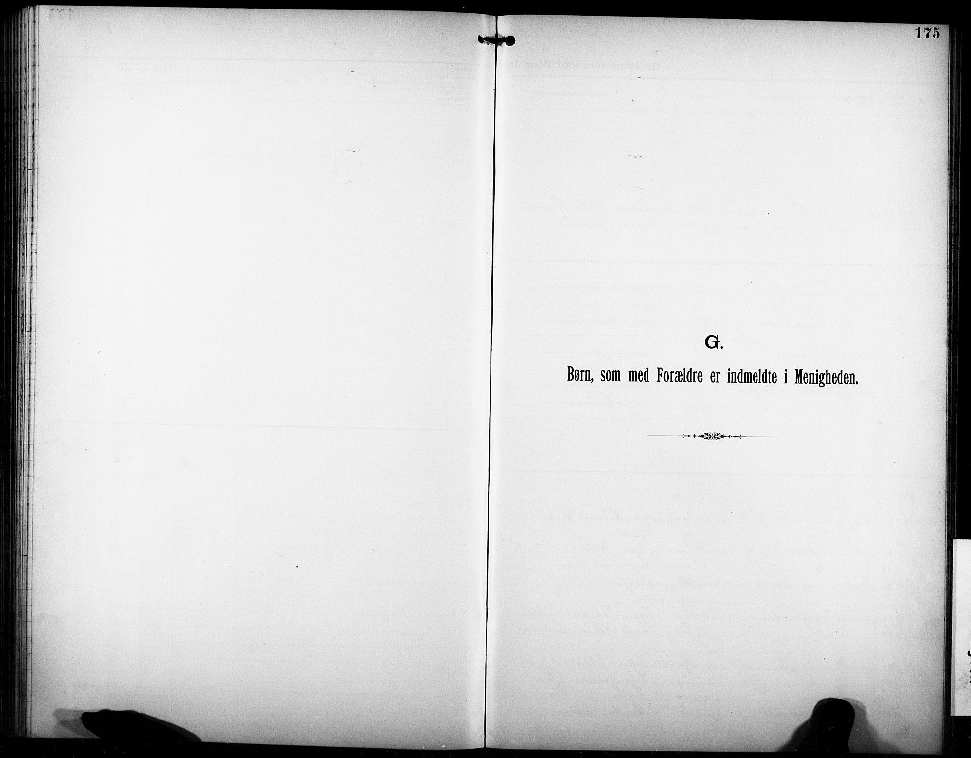 SAKO, Den katolsk-apostoliske menighet i Larvik, F/Fa/L0001: Dissenterprotokoll nr. 1, 1892-1933, s. 175