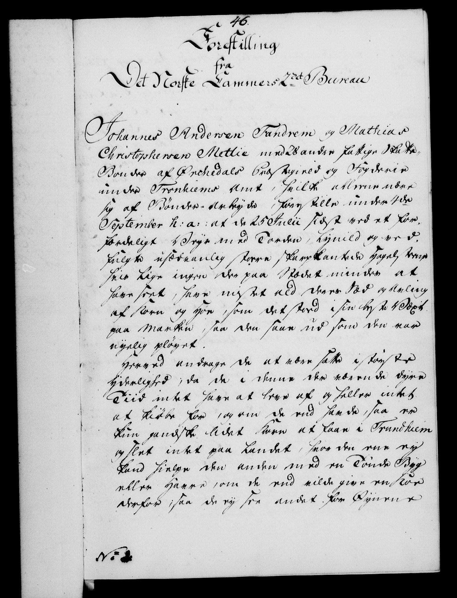 RA, Rentekammeret, Kammerkanselliet, G/Gf/Gfa/L0054: Norsk relasjons- og resolusjonsprotokoll (merket RK 52.54), 1771-1772, s. 110