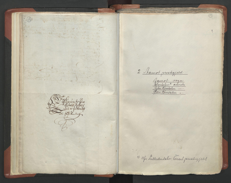 RA, Sogneprestenes manntall 1664-1666, nr. 5: Hedmark prosti, 1664-1666, s. 18-19