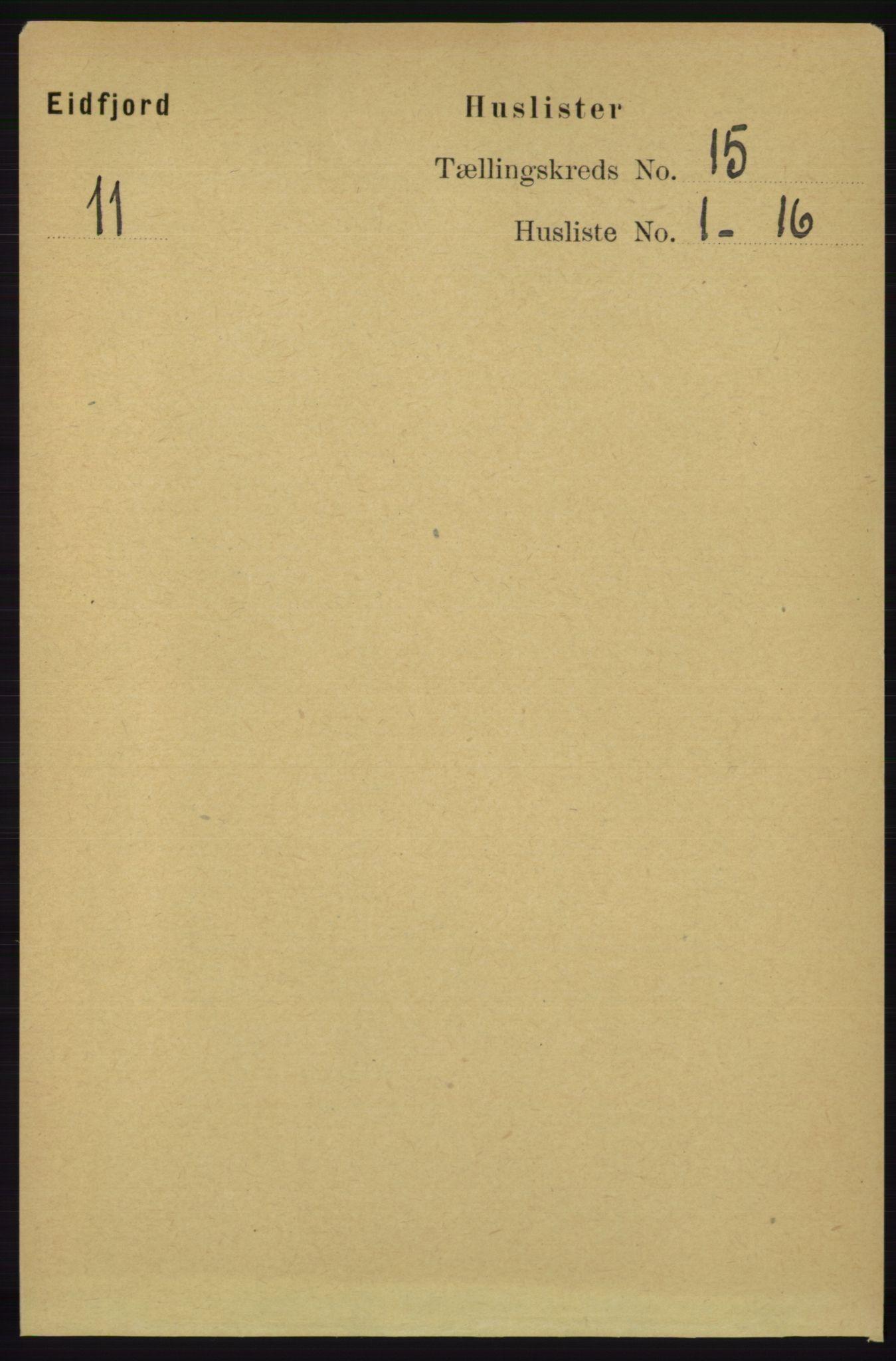 RA, Folketelling 1891 for 1233 Ulvik herred, 1891, s. 4579