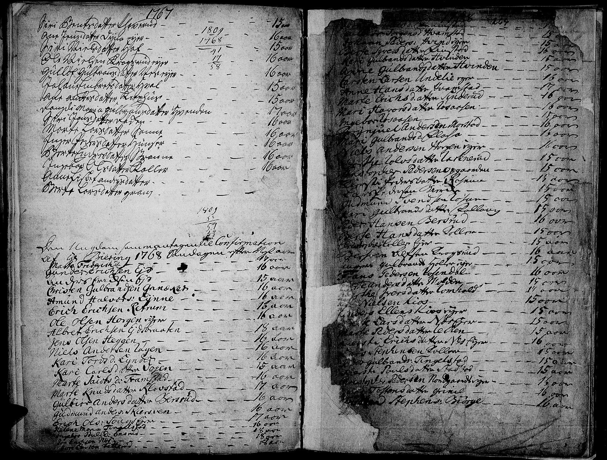 SAH, Gran prestekontor, Ministerialbok nr. 4, 1759-1775, s. 264