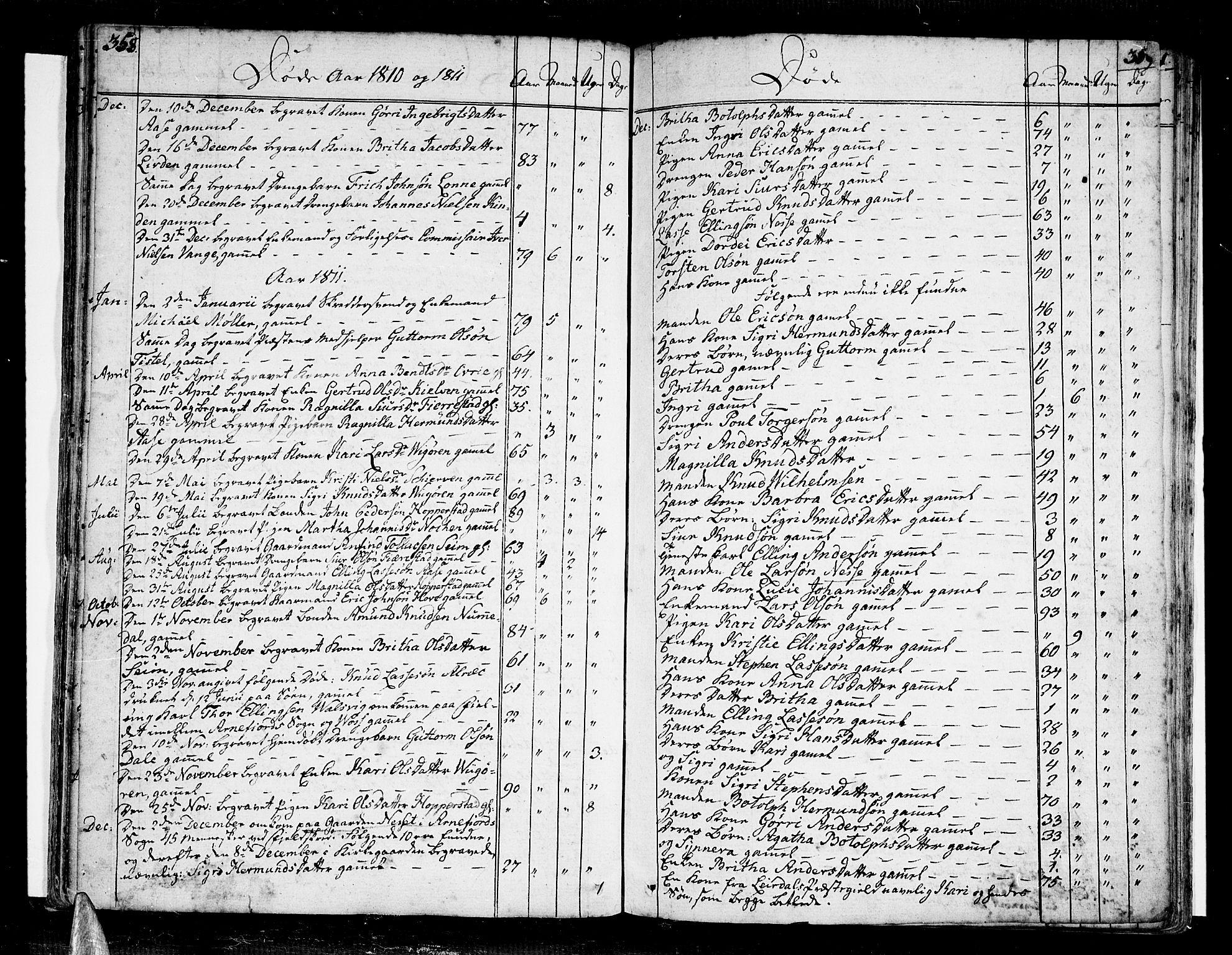 SAB, Vik Sokneprestembete, Ministerialbok nr. A 5, 1787-1820, s. 358-359