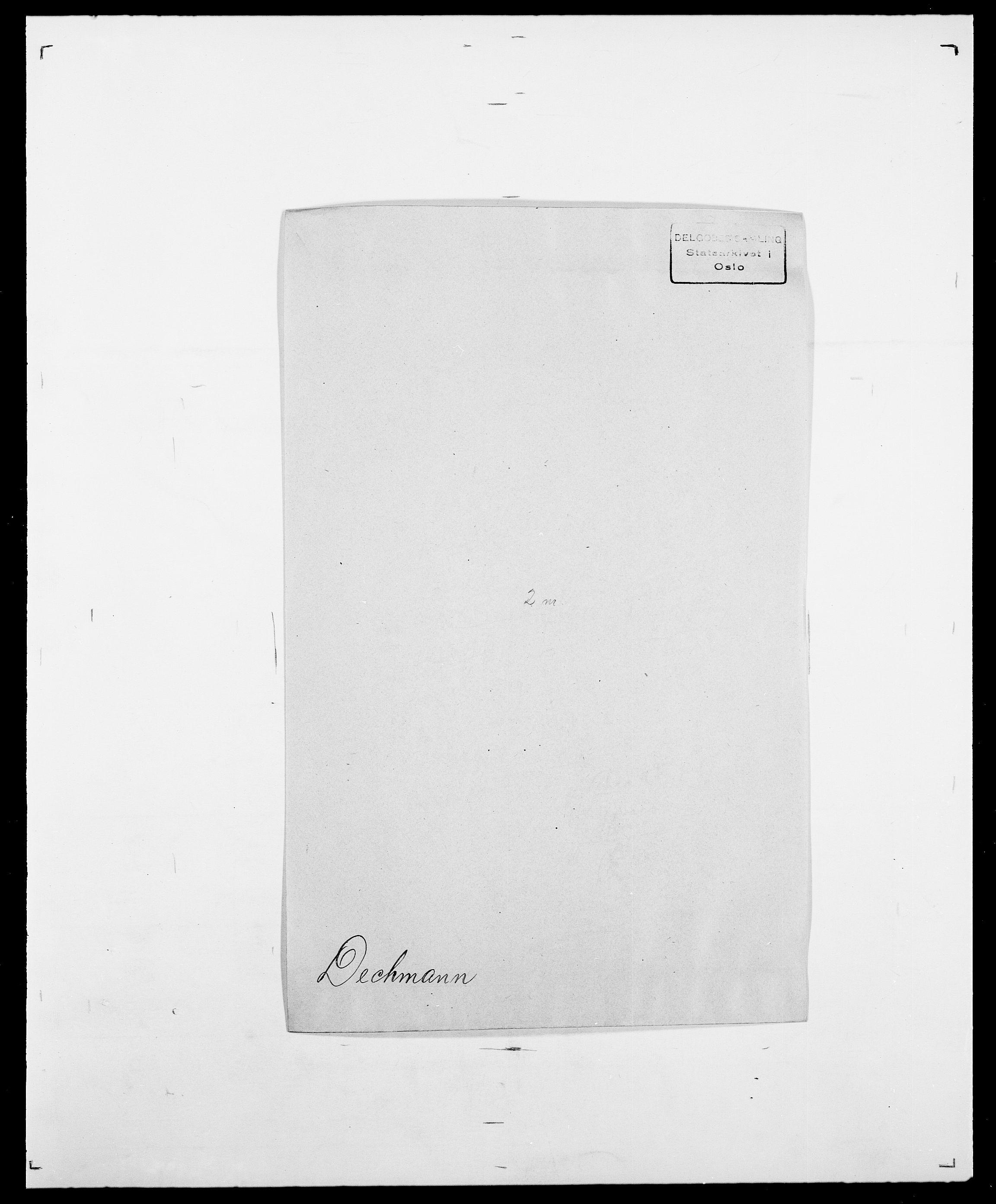 SAO, Delgobe, Charles Antoine - samling, D/Da/L0009: Dahl - v. Düren, s. 396