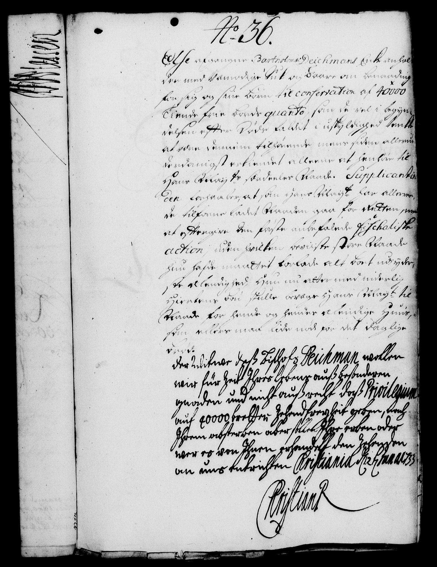 RA, Rentekammeret, Kammerkanselliet, G/Gf/Gfa/L0016: Norsk relasjons- og resolusjonsprotokoll (merket RK 52.16), 1733, s. 226