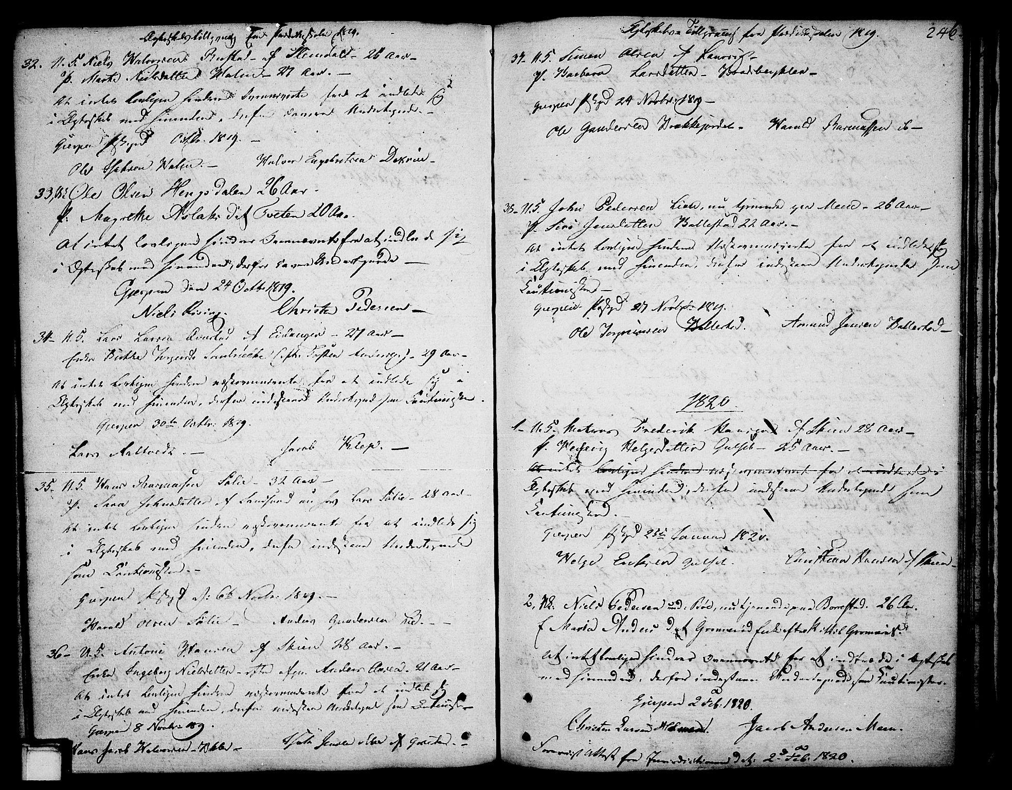 SAKO, Gjerpen kirkebøker, F/Fa/L0003: Ministerialbok nr. 3, 1796-1814, s. 246