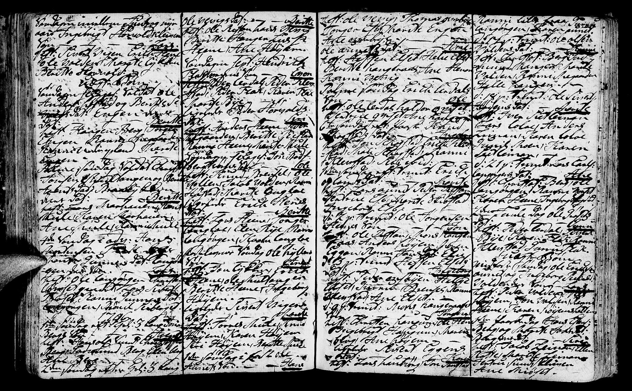 SAT, Ministerialprotokoller, klokkerbøker og fødselsregistre - Sør-Trøndelag, 612/L0370: Ministerialbok nr. 612A04, 1754-1802, s. 122