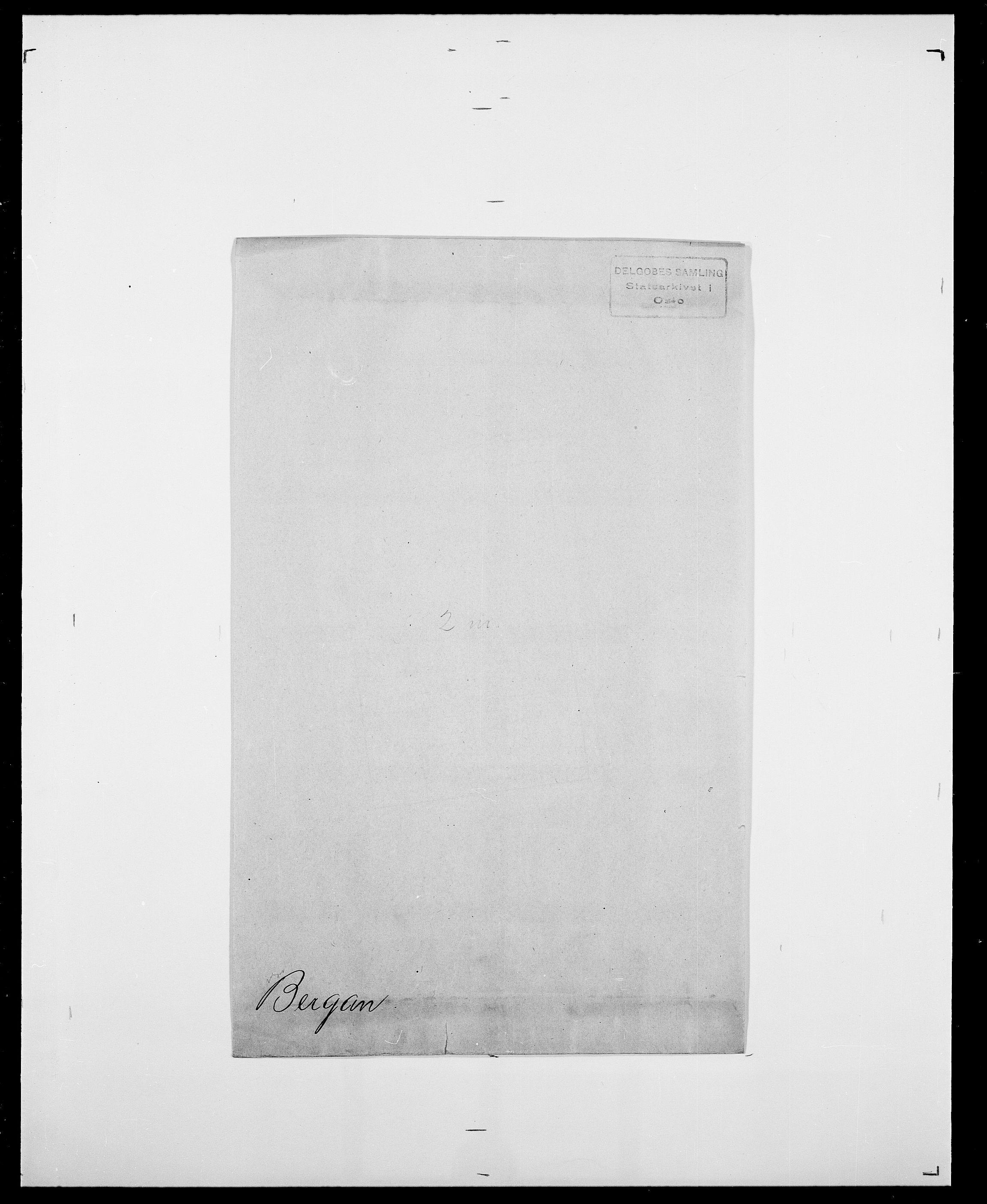 SAO, Delgobe, Charles Antoine - samling, D/Da/L0003: Barca - Bergen, s. 1054