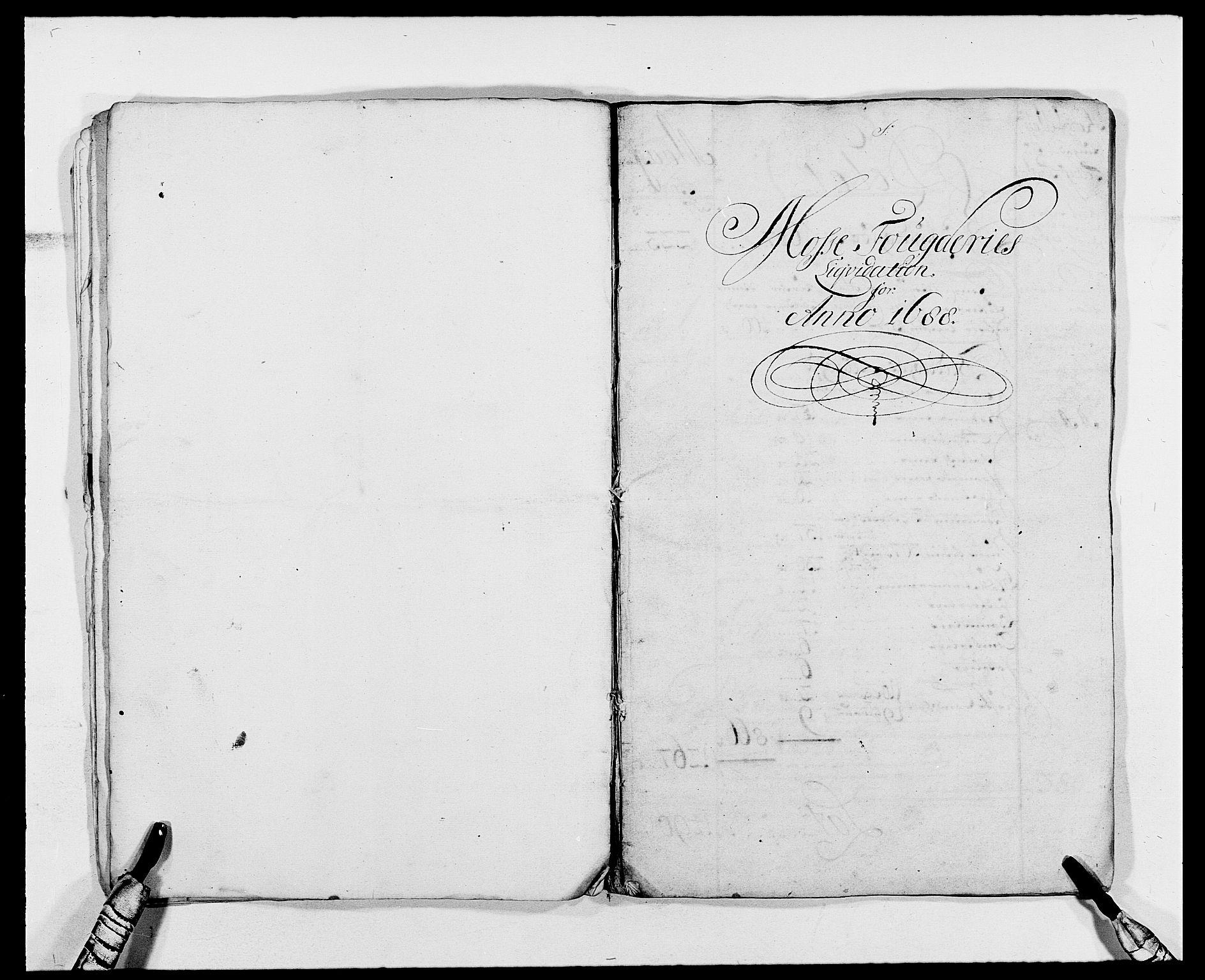 RA, Rentekammeret inntil 1814, Reviderte regnskaper, Fogderegnskap, R02/L0107: Fogderegnskap Moss og Verne kloster, 1685-1691, s. 23