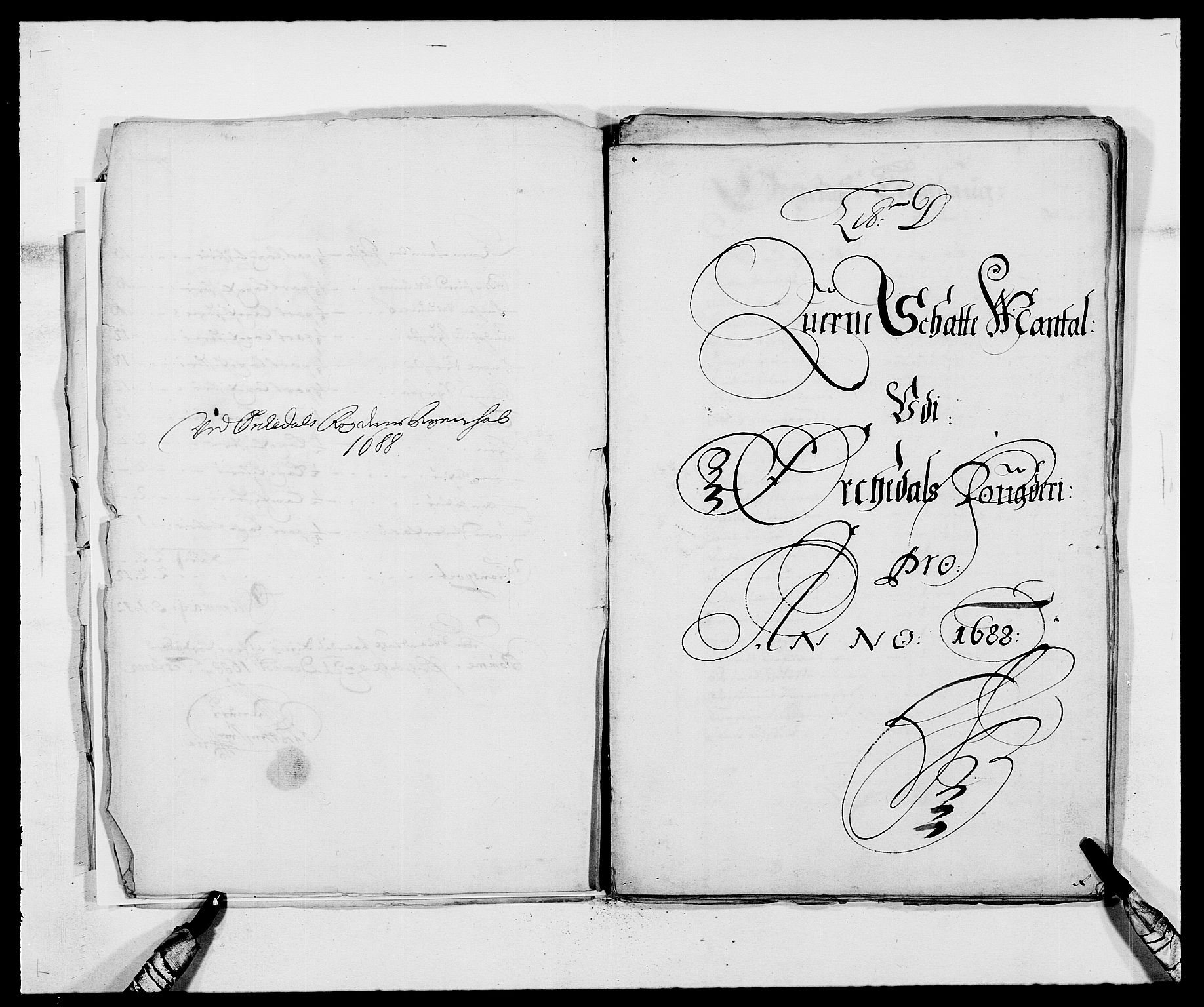 RA, Rentekammeret inntil 1814, Reviderte regnskaper, Fogderegnskap, R58/L3935: Fogderegnskap Orkdal, 1687-1688, s. 259