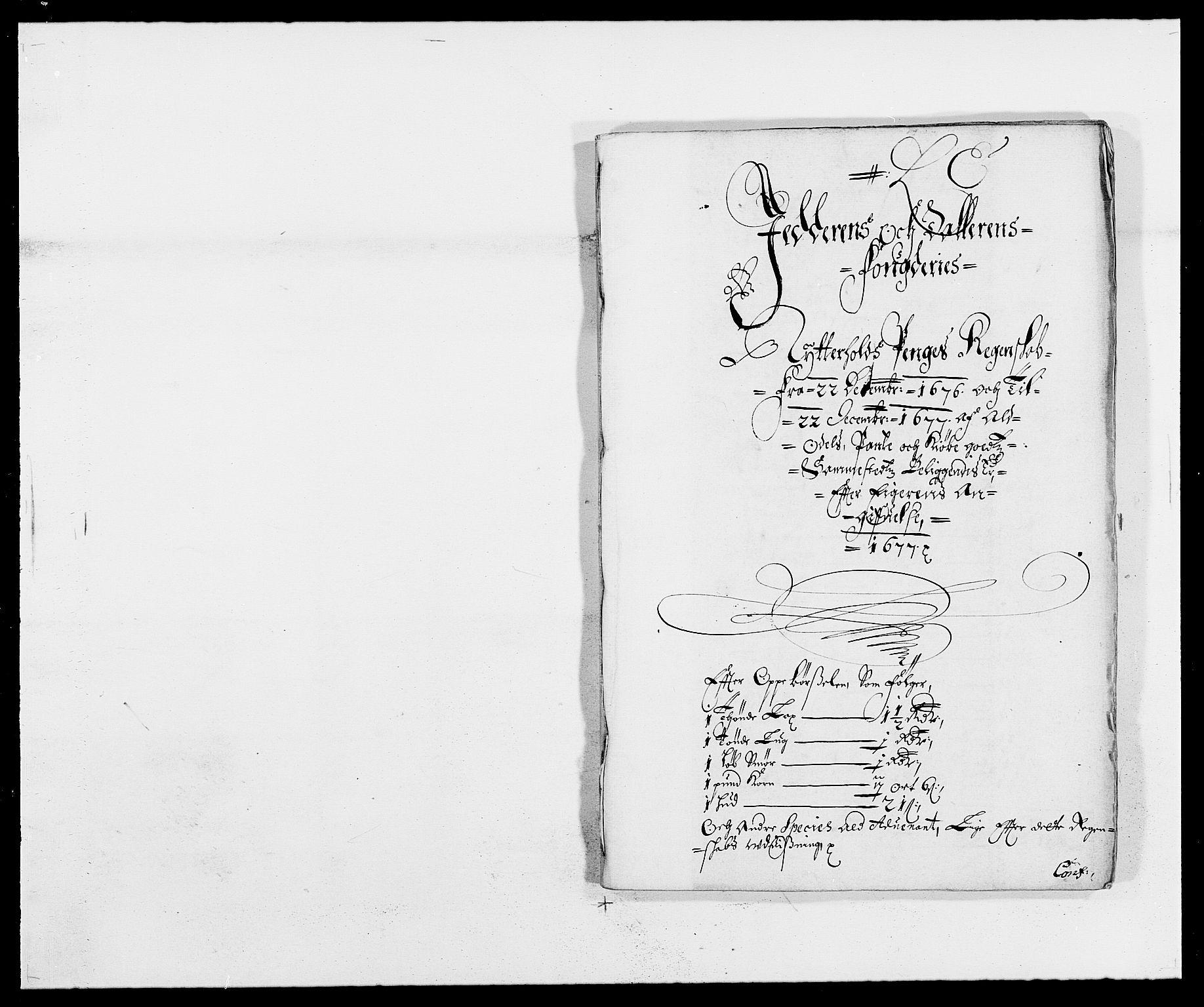 RA, Rentekammeret inntil 1814, Reviderte regnskaper, Fogderegnskap, R46/L2717: Fogderegnskap Jæren og Dalane, 1677, s. 137