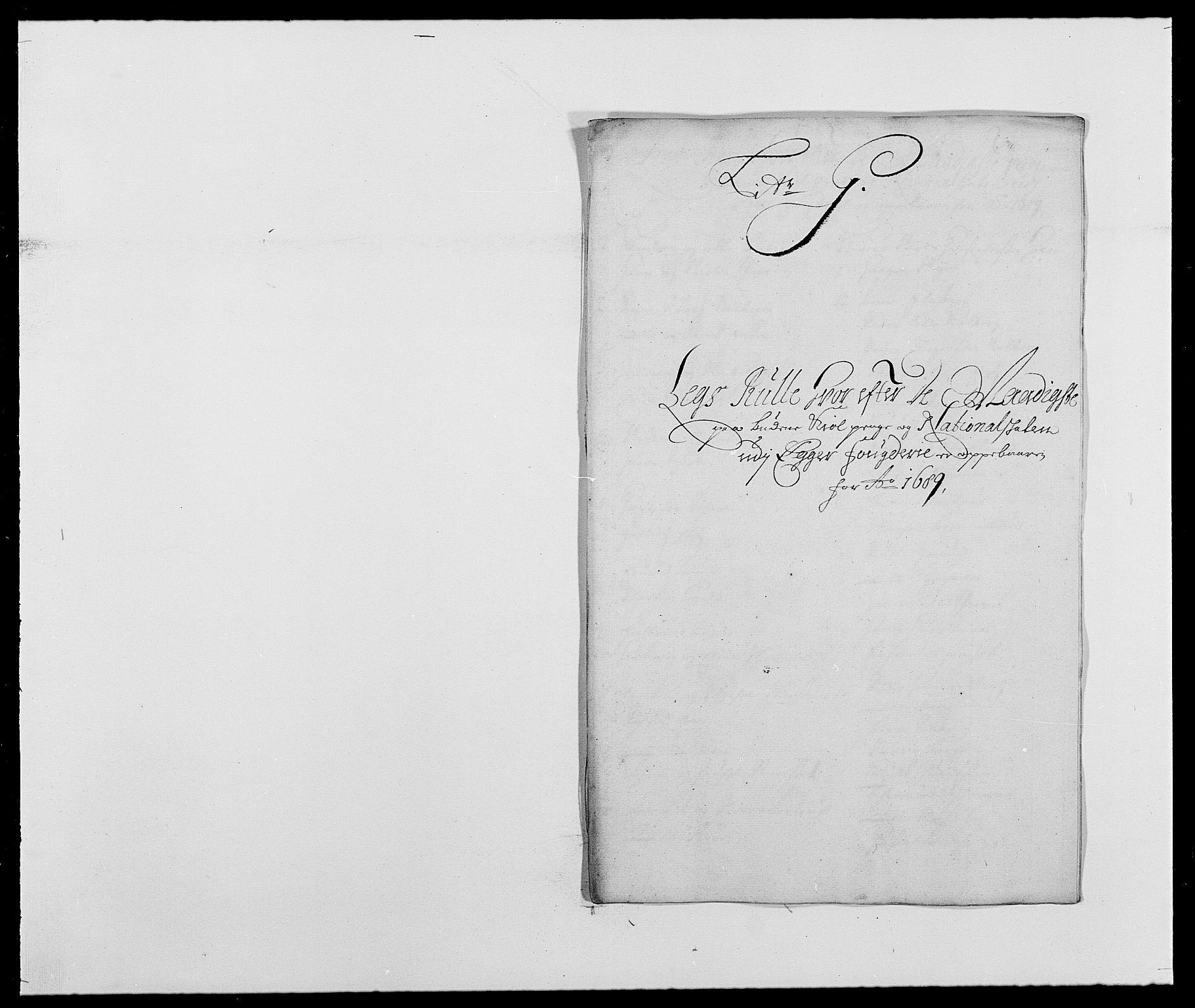 RA, Rentekammeret inntil 1814, Reviderte regnskaper, Fogderegnskap, R28/L1688: Fogderegnskap Eiker og Lier, 1687-1689, s. 422