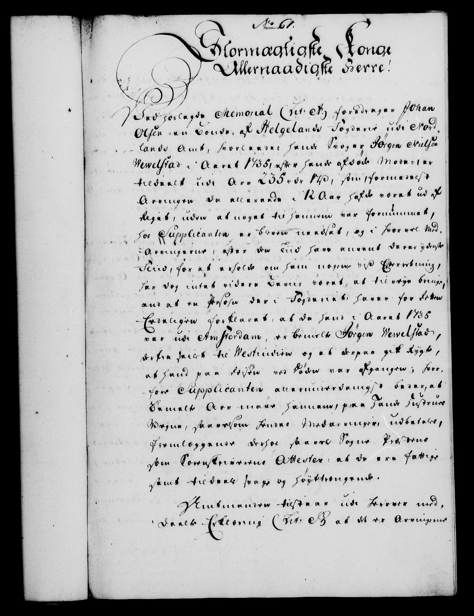 RA, Rentekammeret, Kammerkanselliet, G/Gf/Gfa/L0033: Norsk relasjons- og resolusjonsprotokoll (merket RK 52.33), 1751, s. 318