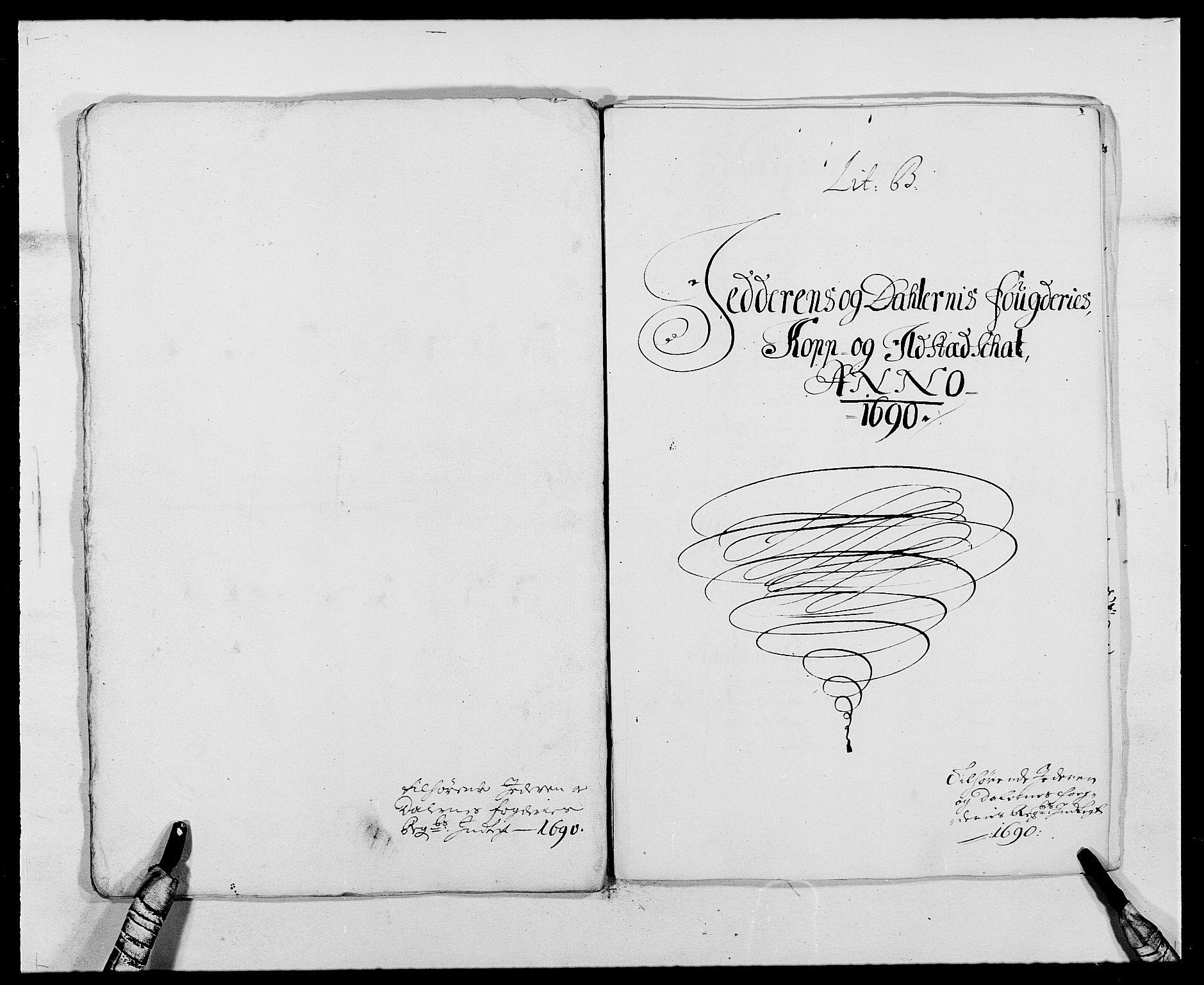 RA, Rentekammeret inntil 1814, Reviderte regnskaper, Fogderegnskap, R46/L2727: Fogderegnskap Jæren og Dalane, 1690-1693, s. 25