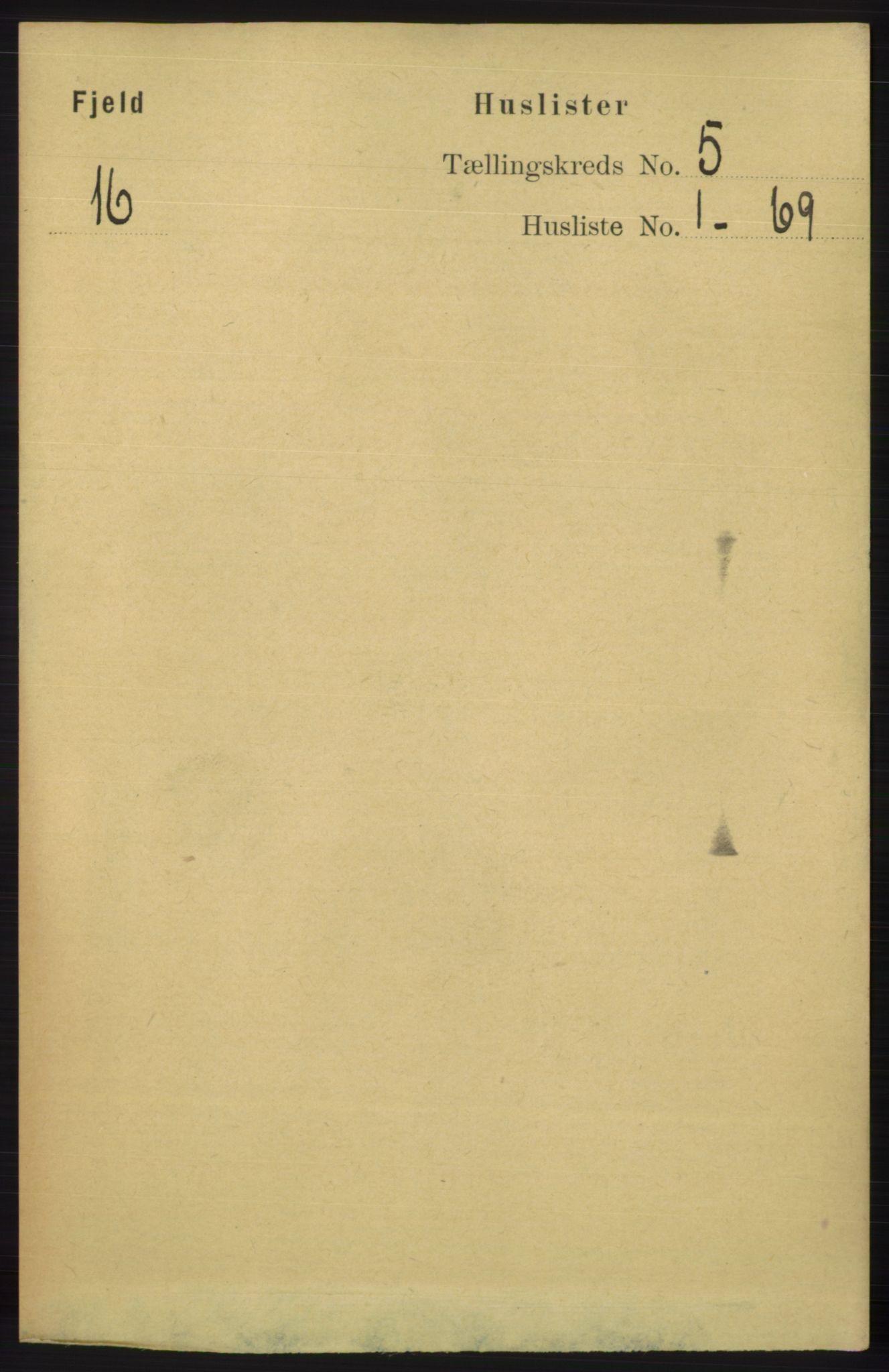 RA, Folketelling 1891 for 1246 Fjell herred, 1891, s. 2483