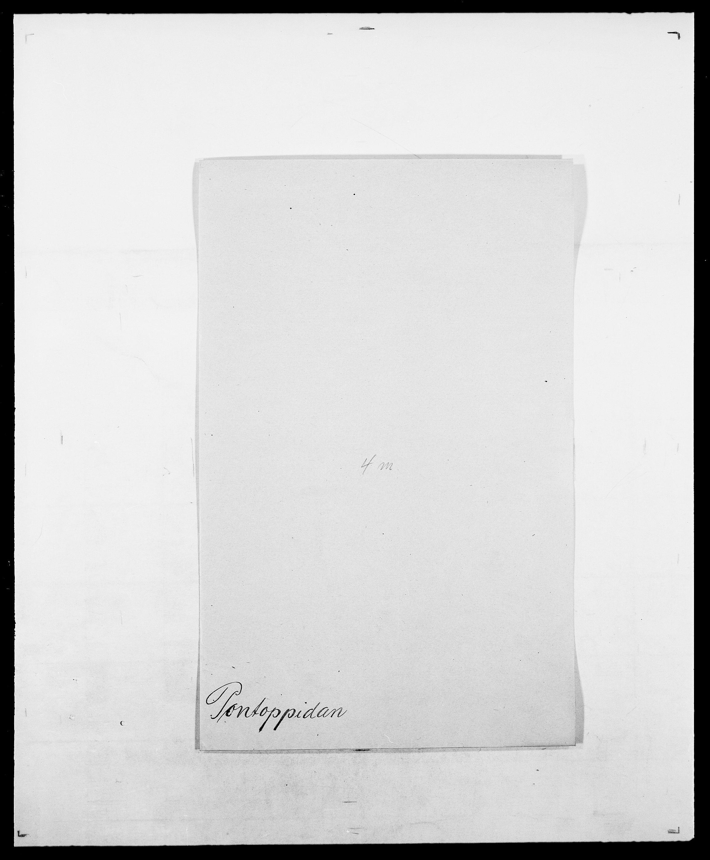 SAO, Delgobe, Charles Antoine - samling, D/Da/L0031: de Place - Raaum, s. 209
