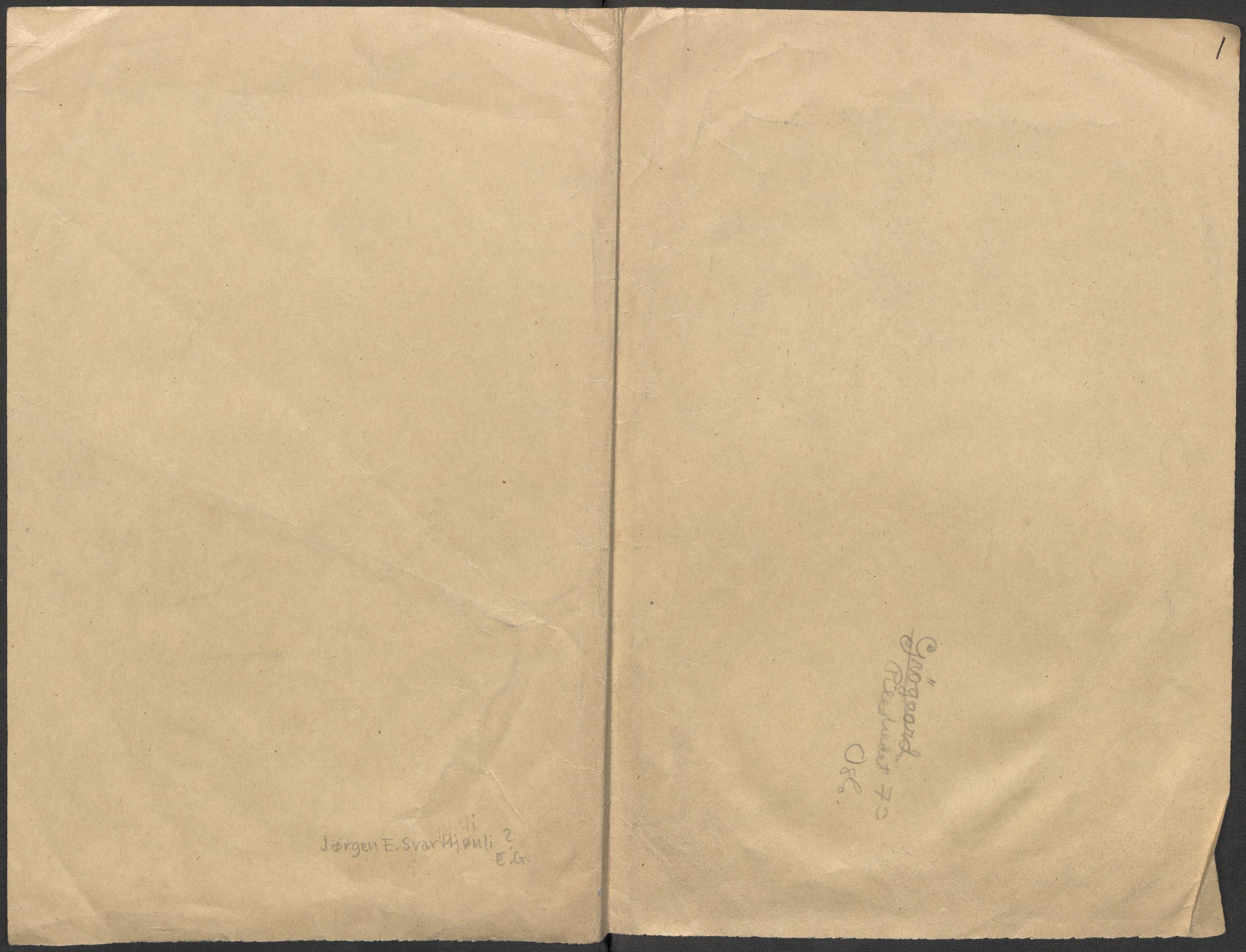 RA, Grøgaard, Joachim, F/L0002: Tegninger og tekster, 1942-1945, s. 131