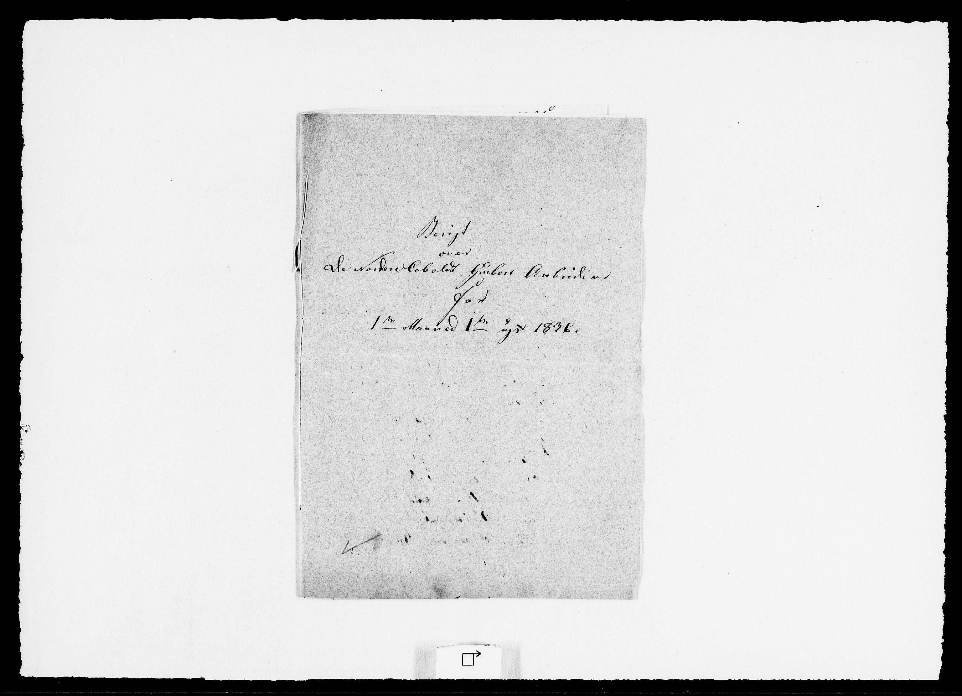 RA, Modums Blaafarveværk, G/Ge/L0350, 1836, s. 2