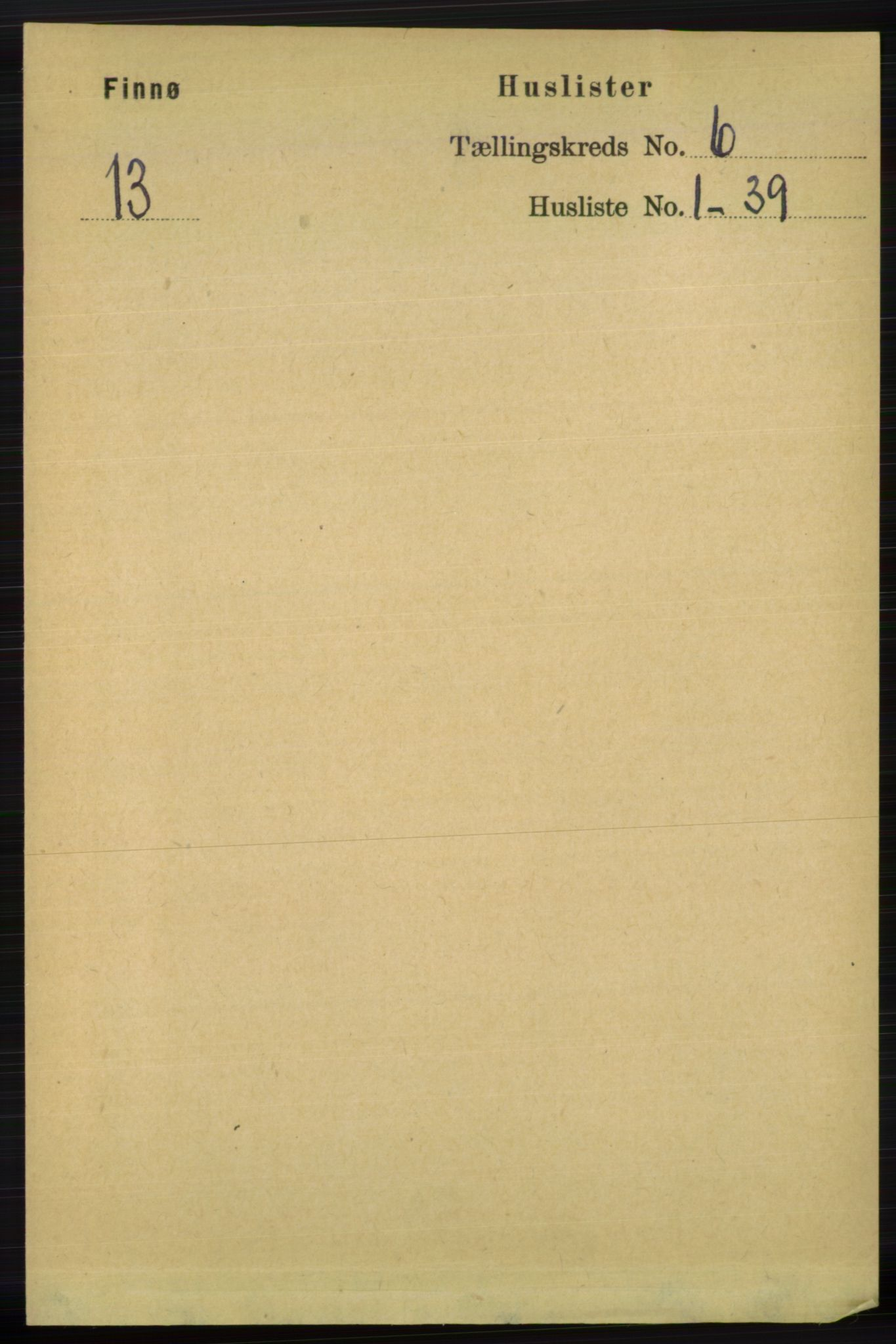 RA, Folketelling 1891 for 1141 Finnøy herred, 1891, s. 1243