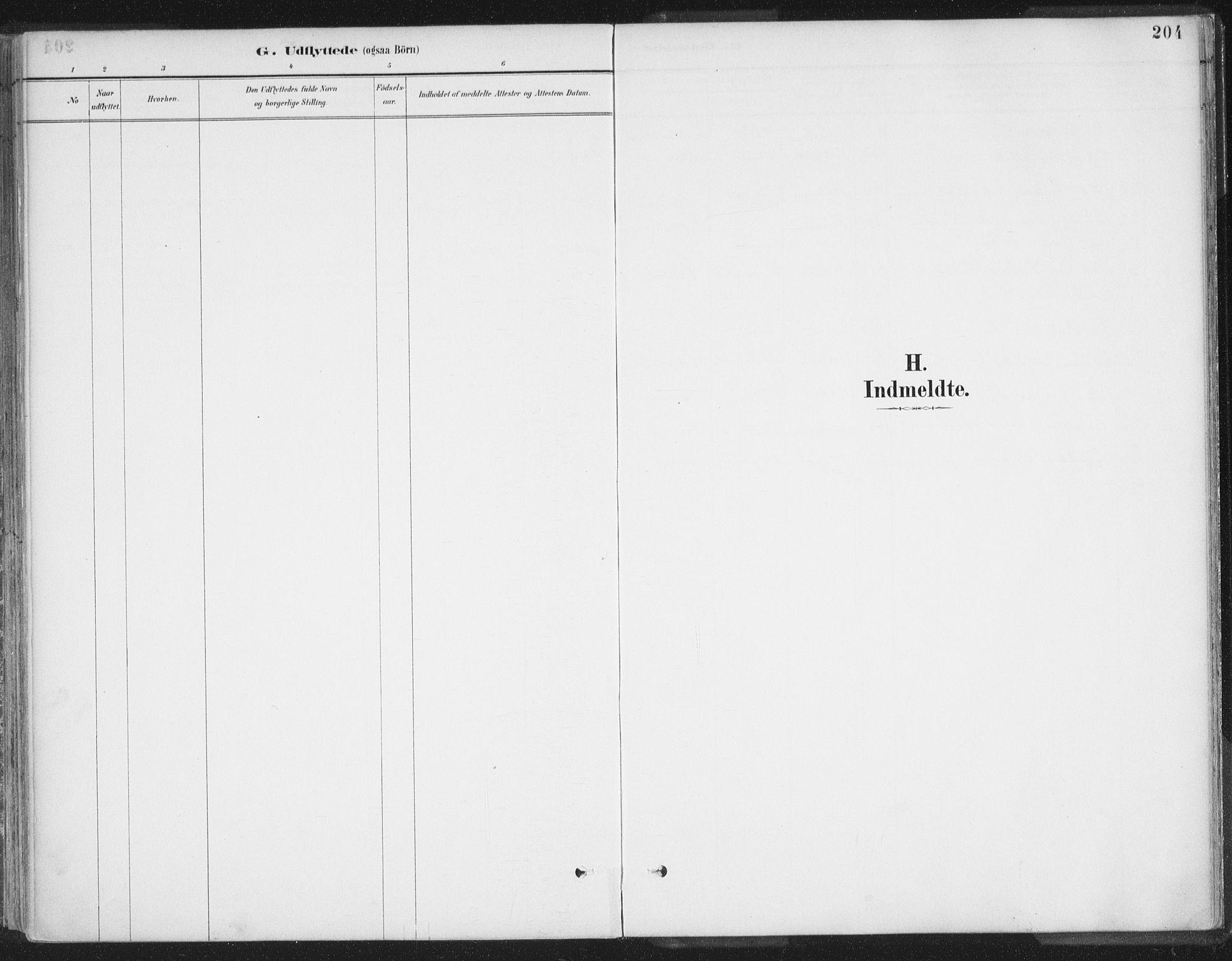 SATØ, Balsfjord sokneprestembete, G/Ga/L0007kirke: Ministerialbok nr. 7, 1887-1909, s. 204