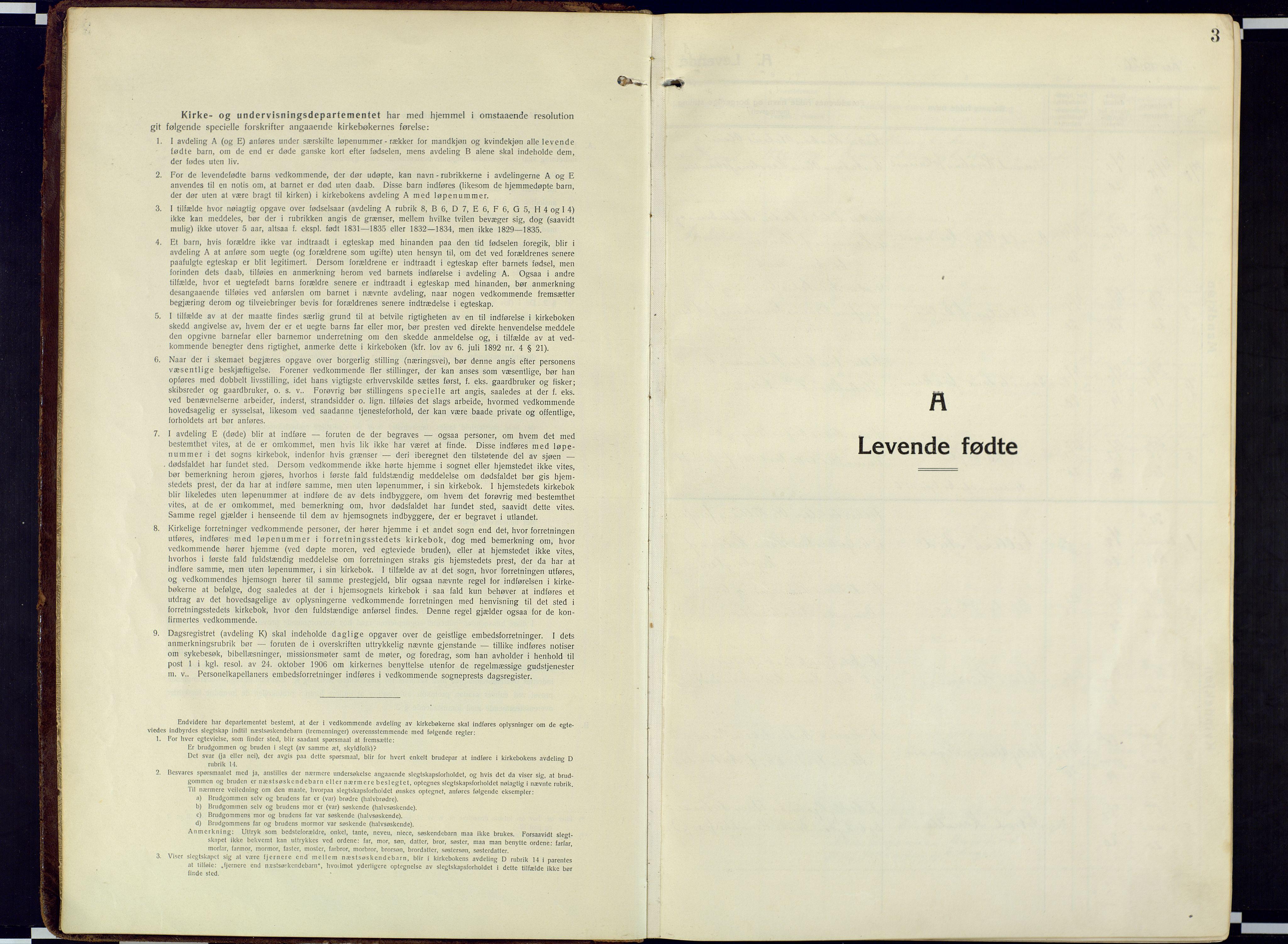 SATØ, Loppa sokneprestkontor, H/Ha/L0013kirke: Ministerialbok nr. 13, 1920-1932, s. 3