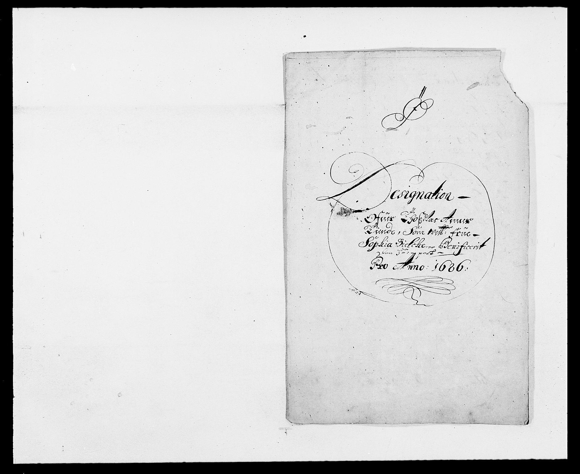 RA, Rentekammeret inntil 1814, Reviderte regnskaper, Fogderegnskap, R03/L0116: Fogderegnskap Onsøy, Tune, Veme og Åbygge fogderi, 1684-1689, s. 322