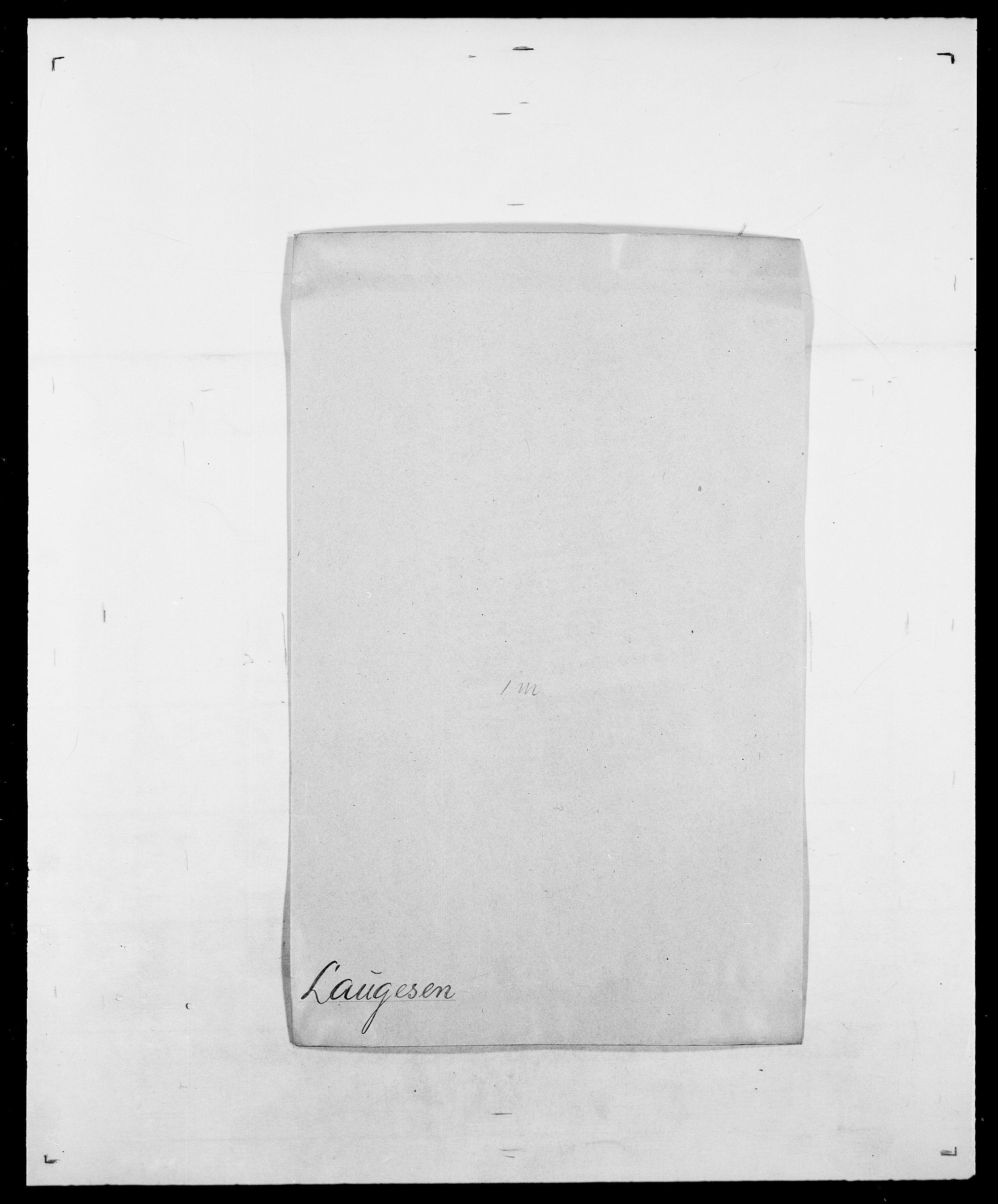 SAO, Delgobe, Charles Antoine - samling, D/Da/L0023: Lau - Lirvyn, s. 8