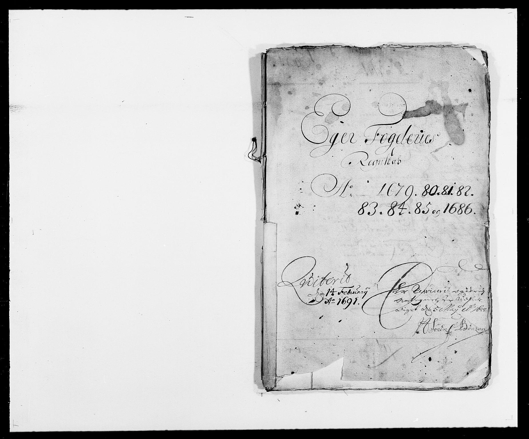 RA, Rentekammeret inntil 1814, Reviderte regnskaper, Fogderegnskap, R26/L1684: Fogderegnskap Eiker, 1679-1686, s. 1