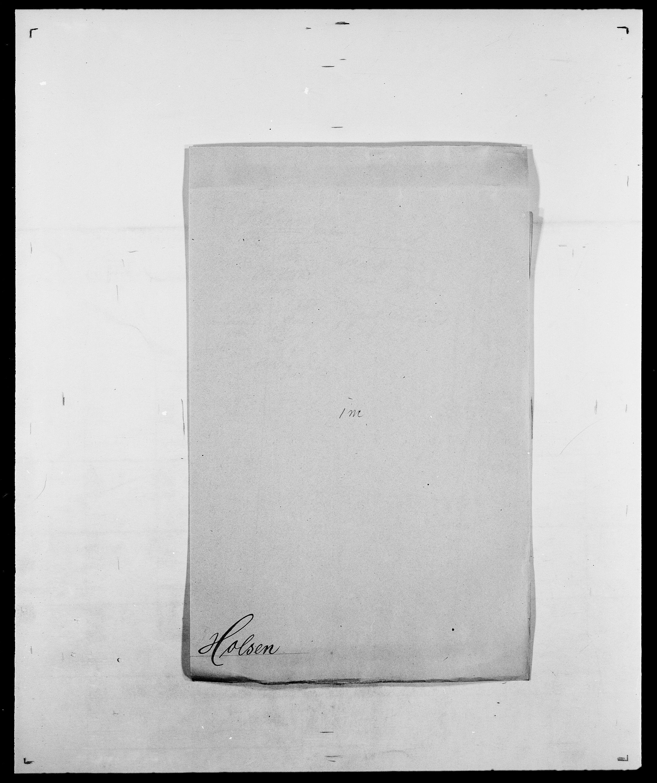 SAO, Delgobe, Charles Antoine - samling, D/Da/L0018: Hoch - Howert, s. 674