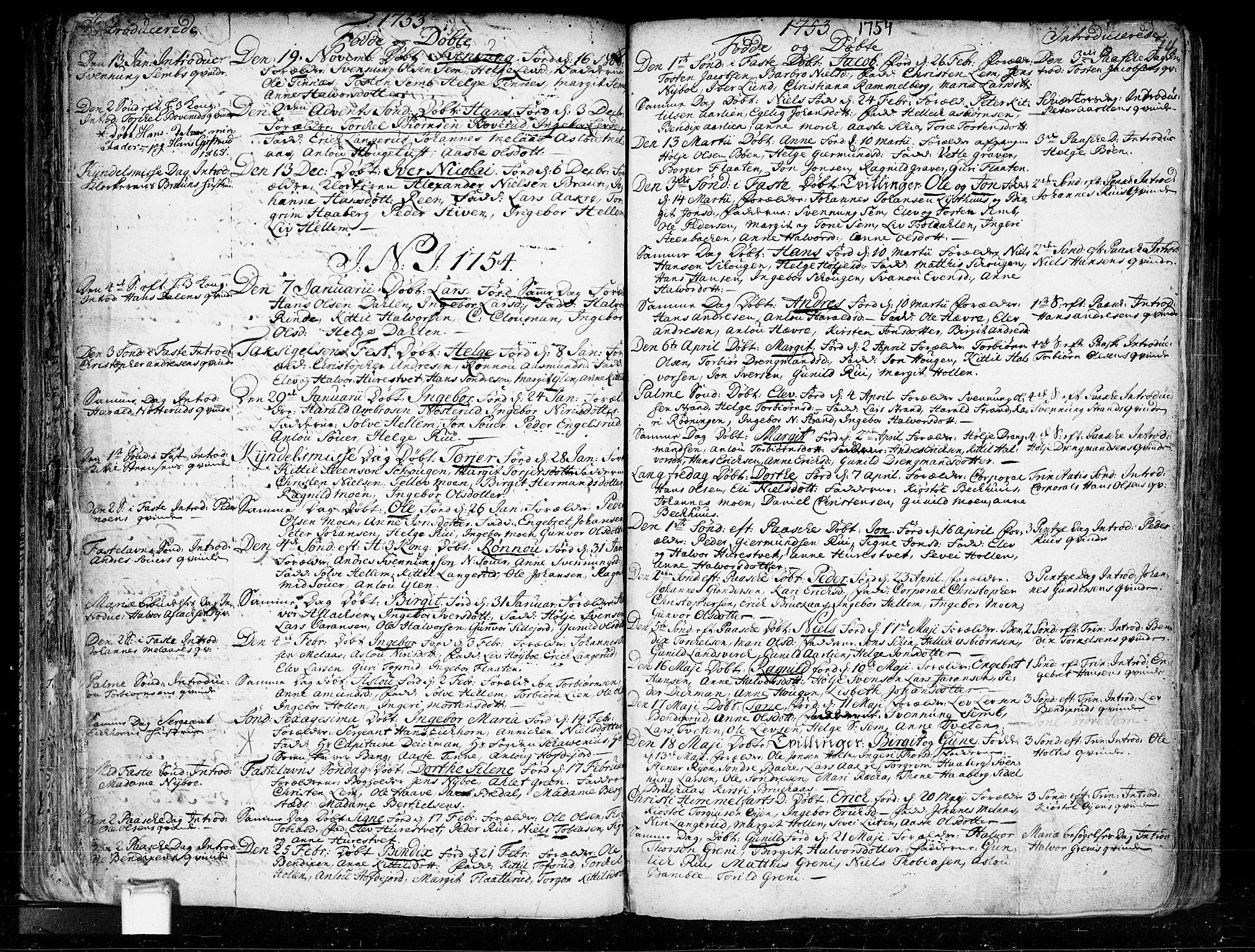 SAKO, Heddal kirkebøker, F/Fa/L0003: Ministerialbok nr. I 3, 1723-1783, s. 74
