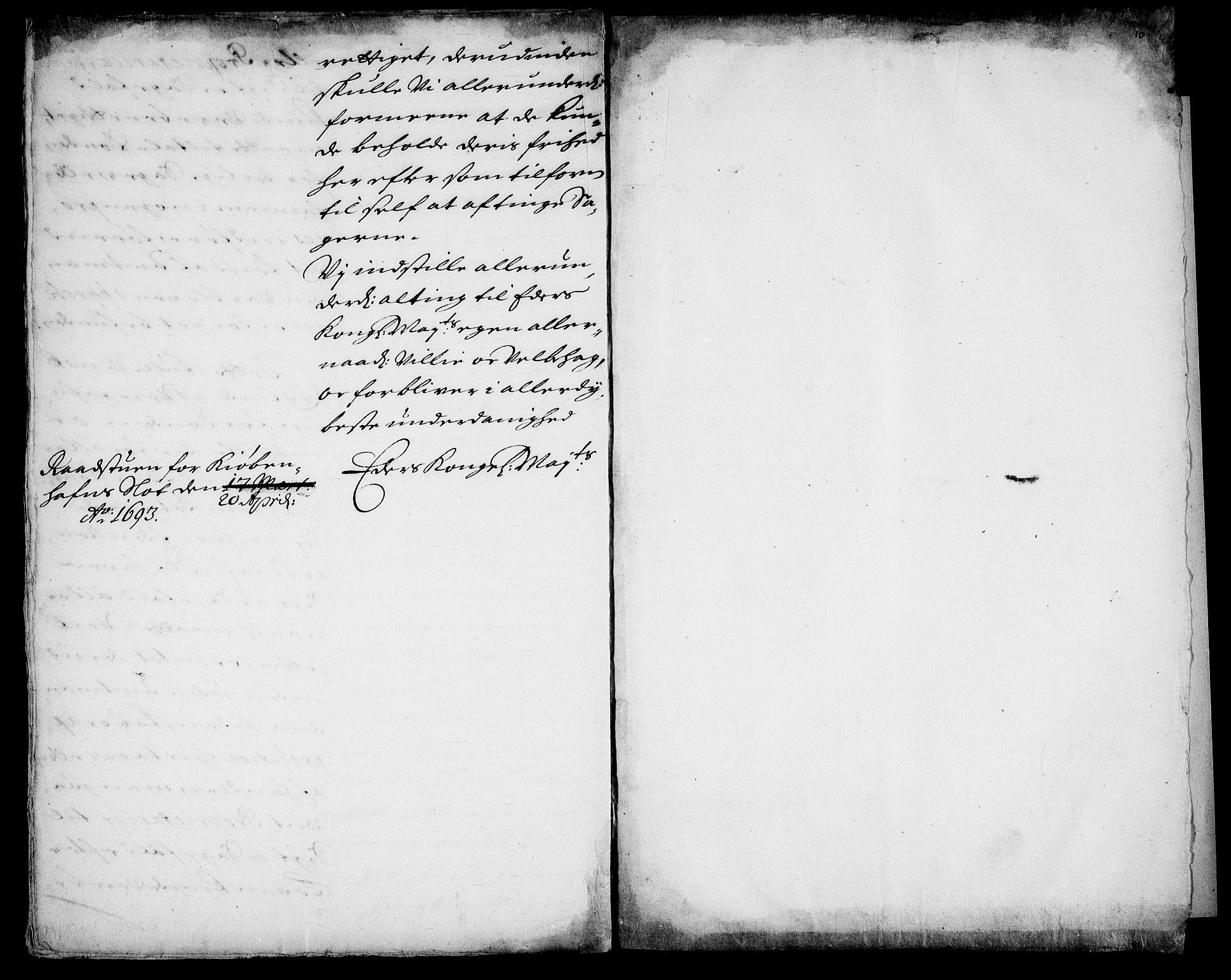RA, Danske Kanselli, Skapsaker, G/L0019: Tillegg til skapsakene, 1616-1753, s. 283
