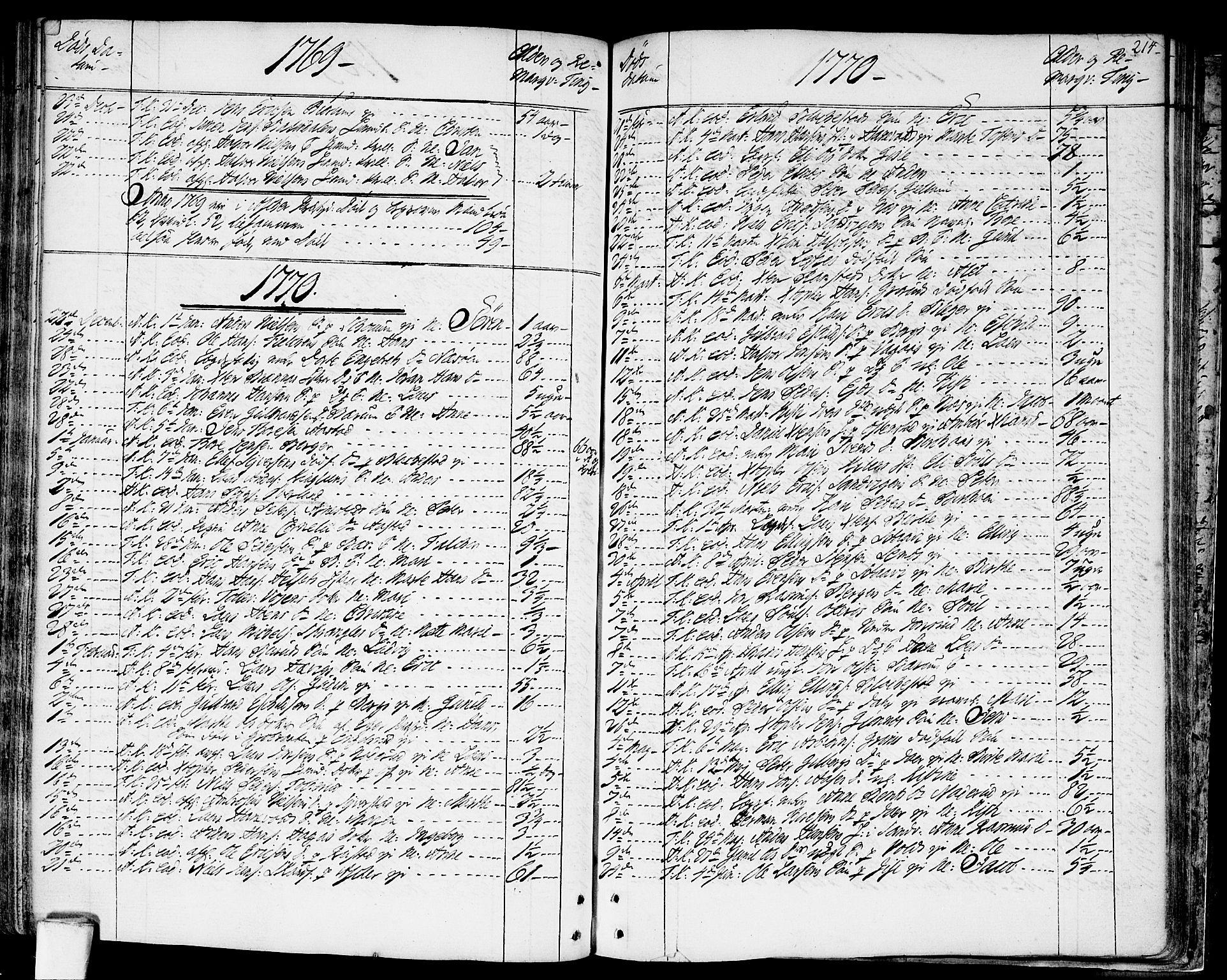 SAO, Asker prestekontor Kirkebøker, F/Fa/L0003: Ministerialbok nr. I 3, 1767-1807, s. 214