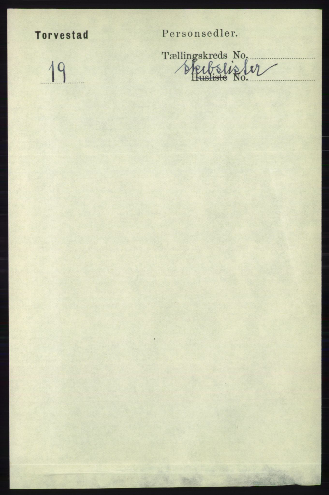 RA, Folketelling 1891 for 1152 Torvastad herred, 1891, s. 2343